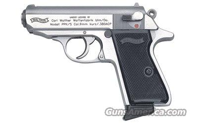 Walther,Sku:2246004, PPK/S,380 SS, auto,3 3/8,NEW,7 round  Guns > Pistols > Walther Pistols > Post WWII > PPK Series
