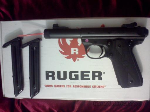 Ruger Sku:03903 22/45LITE, Threaded Barrel, Zytel poymer frame, threaded barrel,Catalog# P45MK3ALRPFL, New  Guns > Pistols > Ruger Semi-Auto Pistols > Mark I & II Family