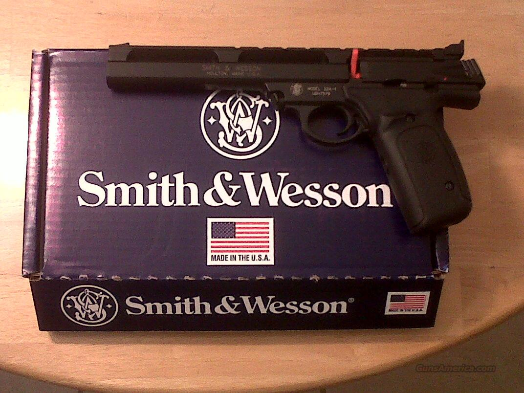 "SMITH & WESSON 22A SPORT AUOTO PISTOL 7"" BARREL 10 ROUND MAG  Guns > Pistols > Smith & Wesson Pistols - Autos > .22 Autos"