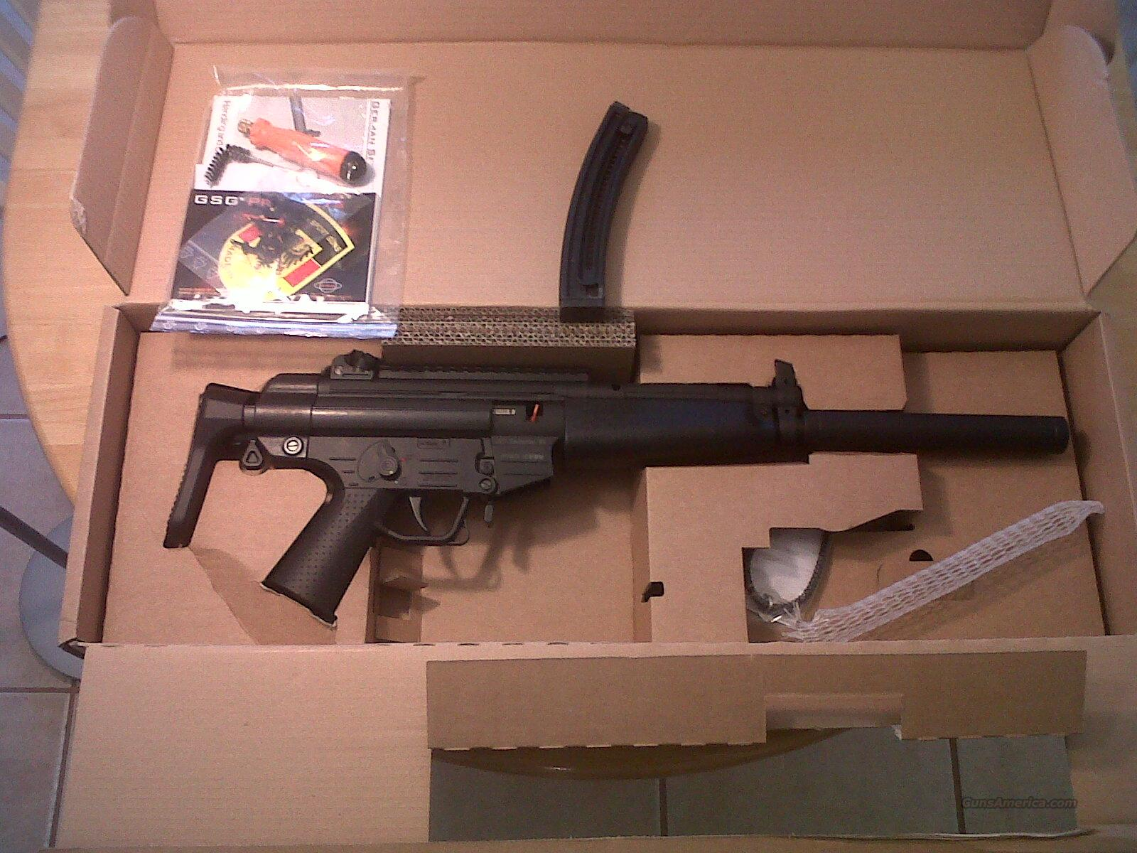 GSG-522 Carbine version GERG522RCB22 Carbine with retractable stock  Guns > Pistols > American Tactical Imports Pistols