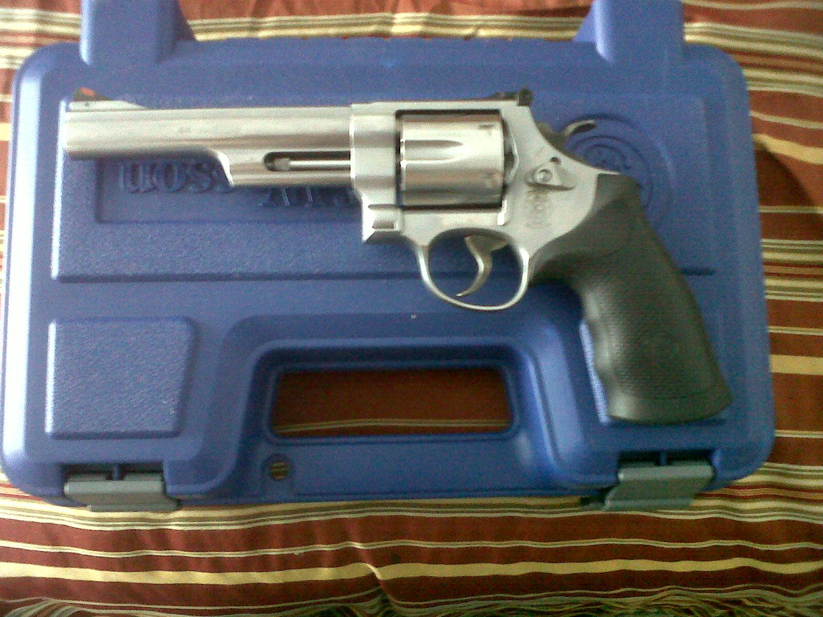 "Smith & wesson Model 629 44 magnum 6 shot stainless revolver with 6"" barrel NEW  Guns > Pistols > Smith & Wesson Revolvers > Model 629"