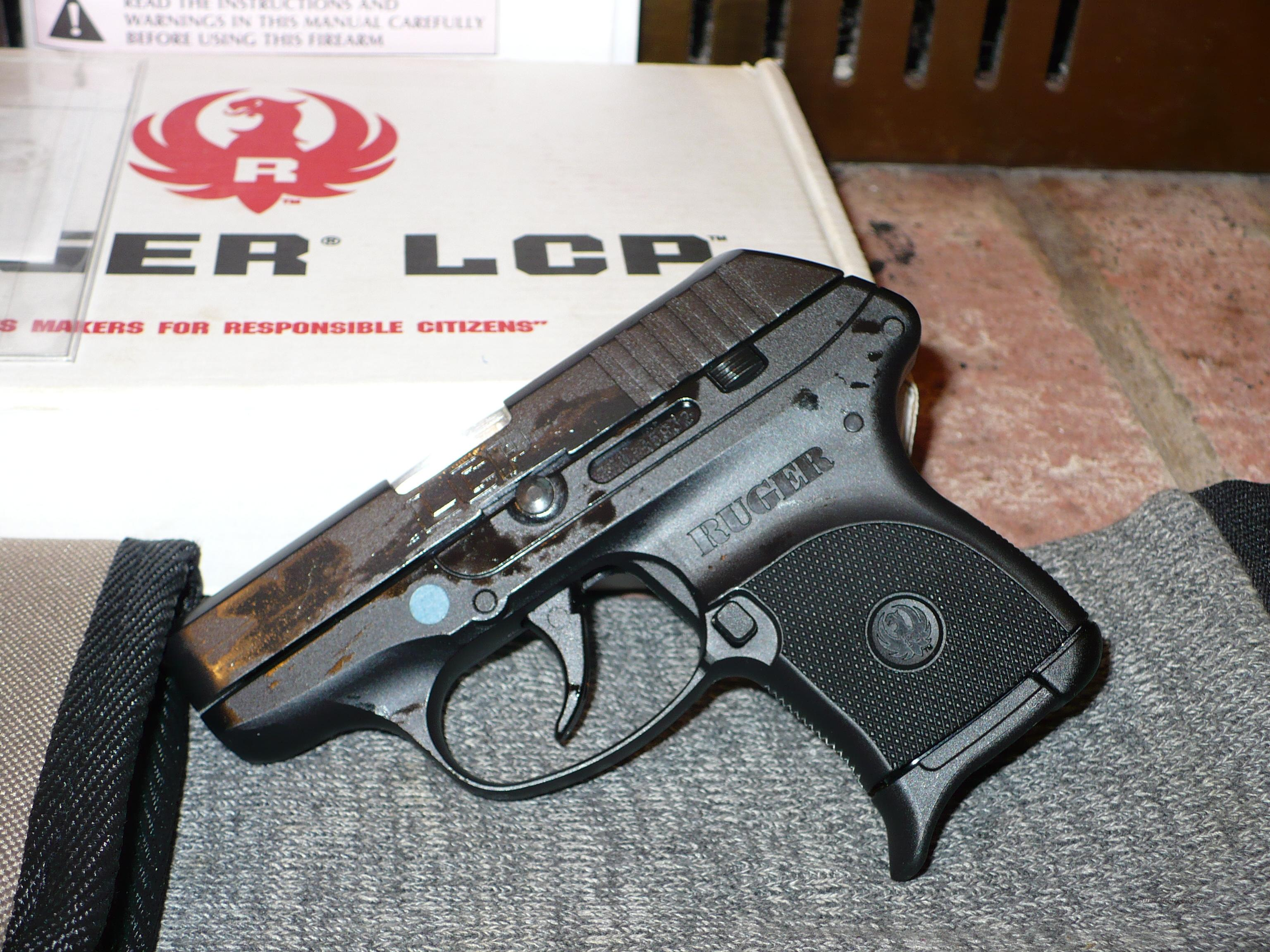 RUGER LCP 380 AS NEW IN BOX  Guns > Pistols > Ruger Semi-Auto Pistols > LCP