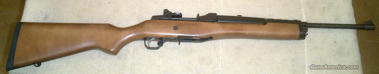 RUGER Mini 14 Wood and Blued Brand new 5 round clip  Guns > Rifles > Ruger Rifles > Mini-14 Type