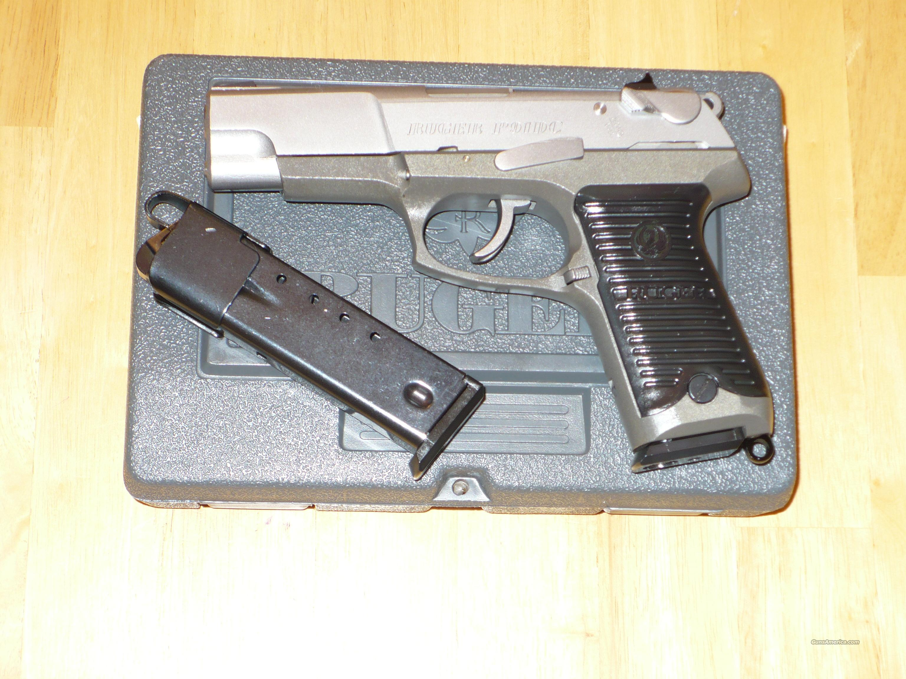 RUGER P91DC USED AS NEW IN ORIGINAL BOX WITH ALL PAPERWORK 2 MAGS AND IN MINT CONDITION  Guns > Pistols > Ruger Semi-Auto Pistols > P-Series