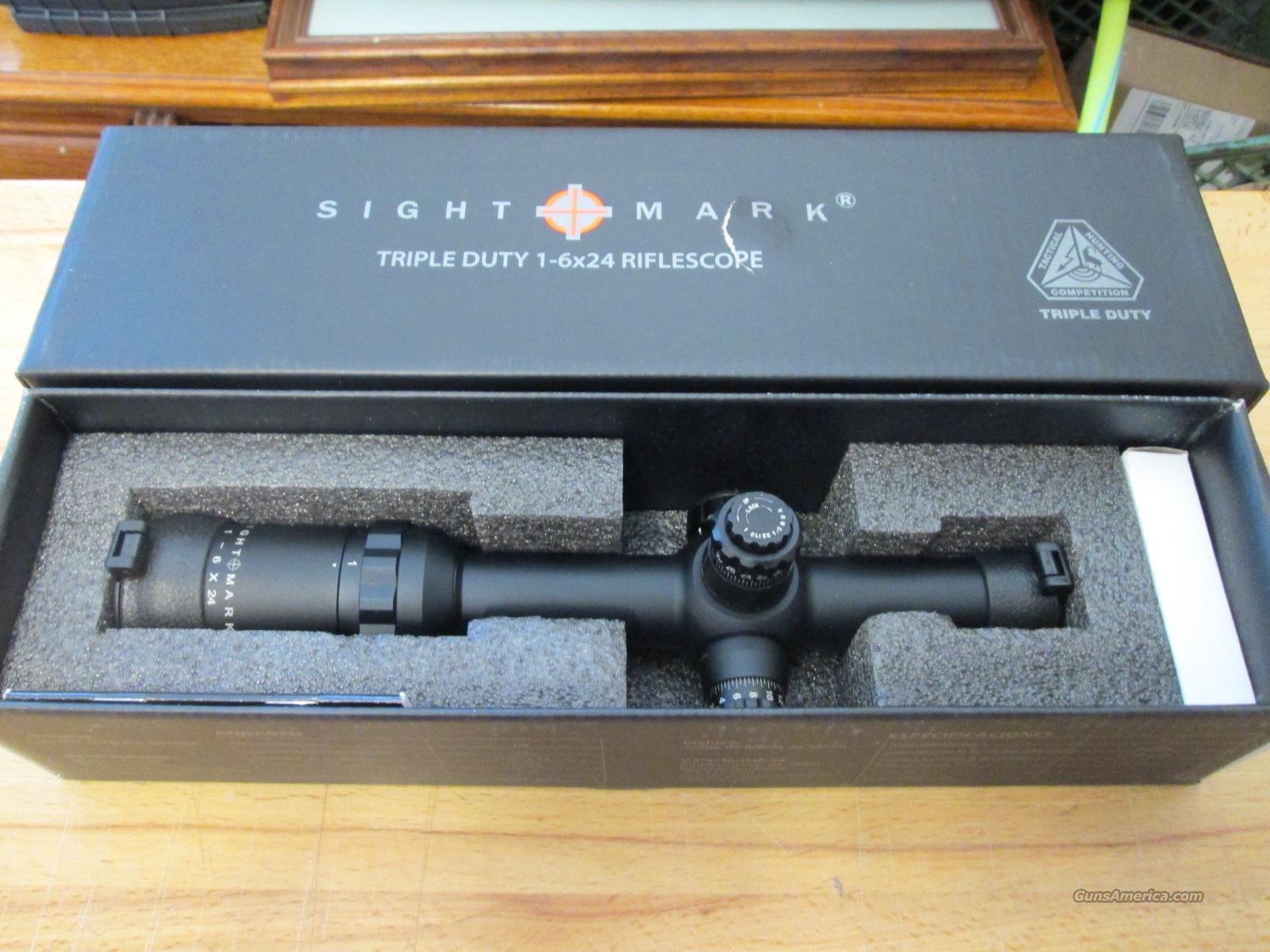 Sightmark Triple Duty CDX 1-6x24   Non-Guns > Scopes/Mounts/Rings & Optics > Rifle Scopes > Variable Focal Length