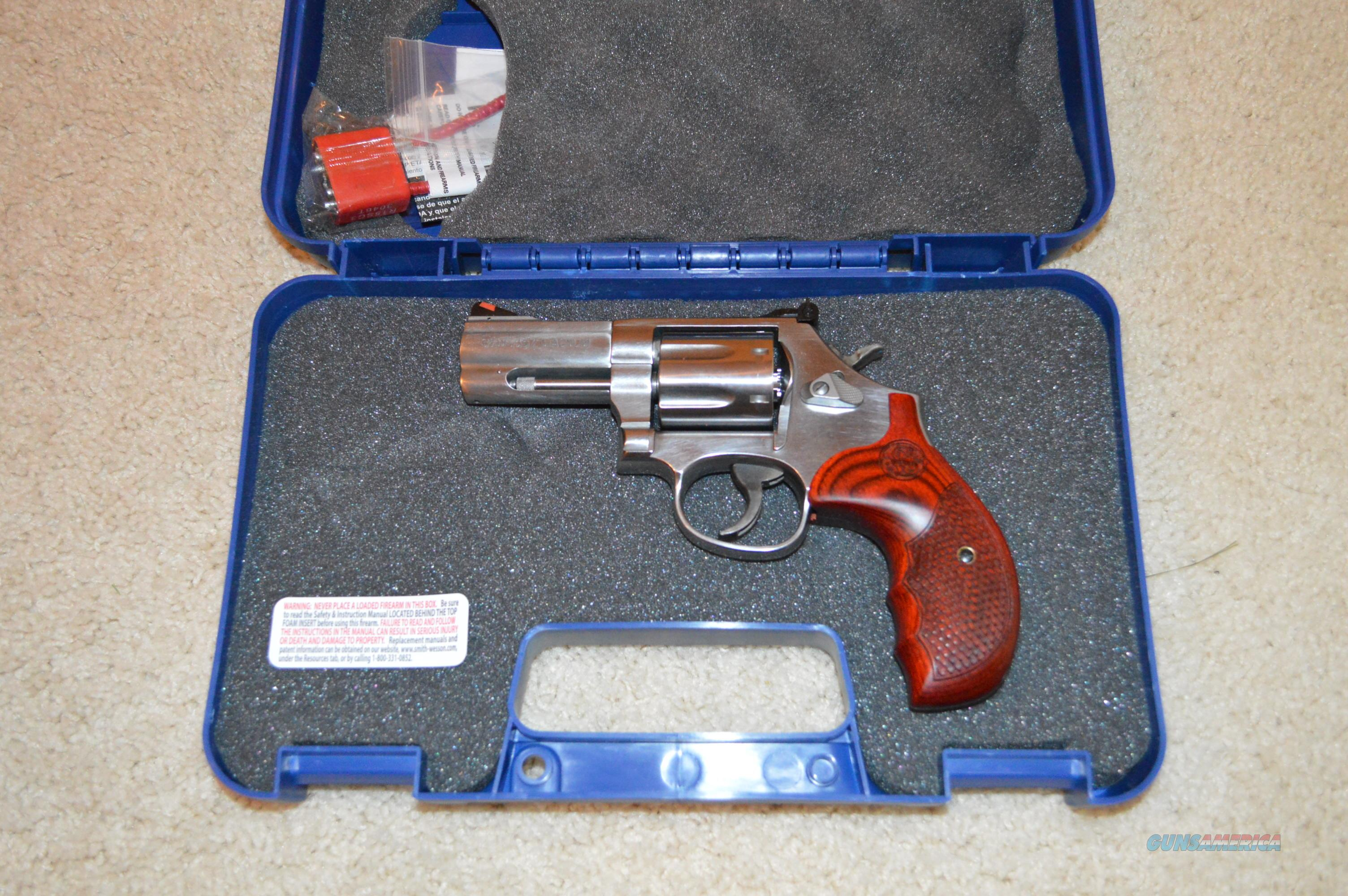 "Smith and Wesson 686 3"" Deluxe Talo  Guns > Pistols > Smith & Wesson Revolvers > Full Frame Revolver"