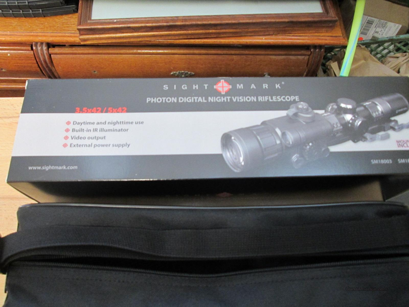 Sightmark Photon-S 3.5x42 Call for Sale Price!  Non-Guns > Night Vision