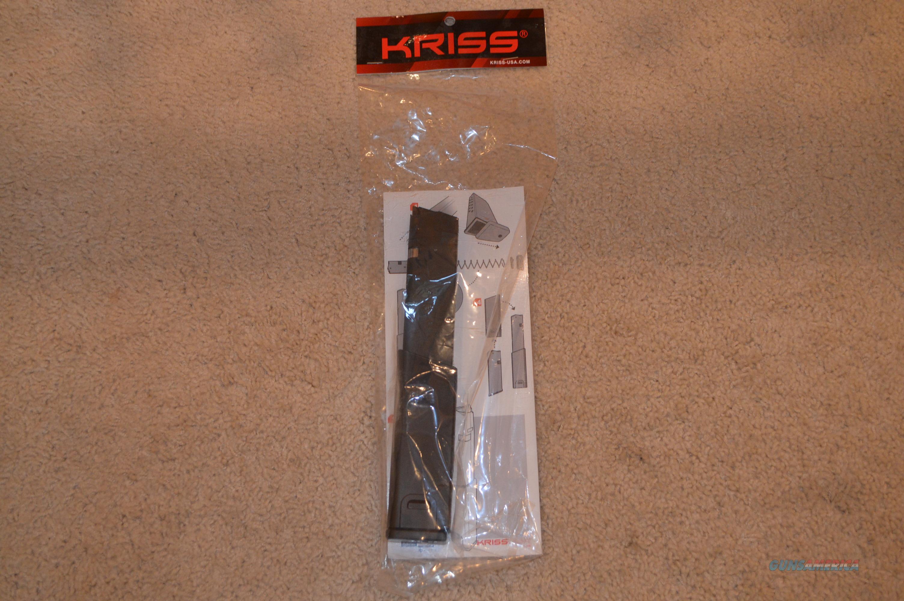 Kriss G25 Mag 25 Round 45acp Glock Free Ship!  Non-Guns > Magazines & Clips > Rifle Magazines > Other