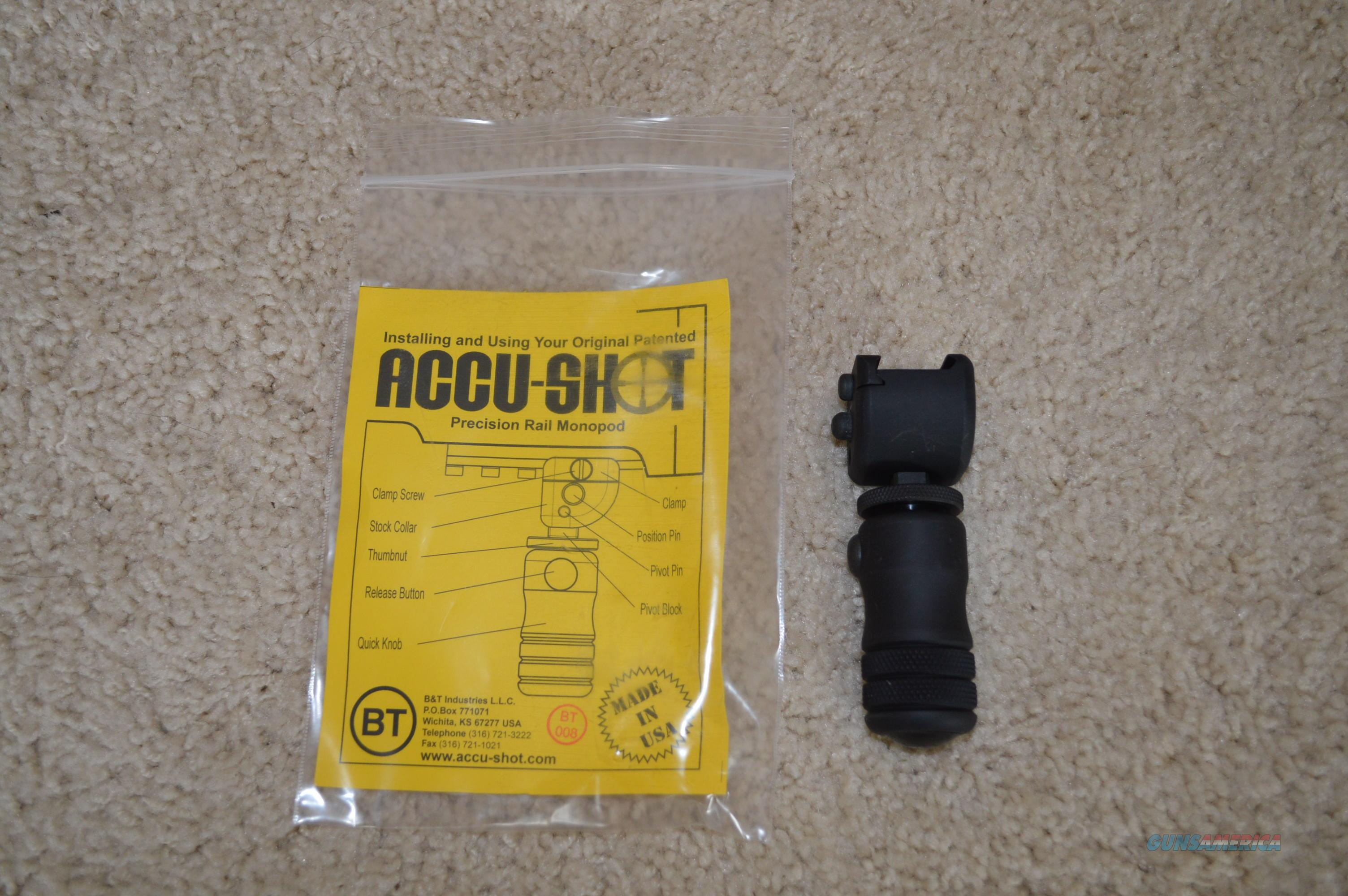Accu-Shot BT12 QK Mono Pod  Non-Guns > Gun Parts > Rifle/Accuracy/Sniper