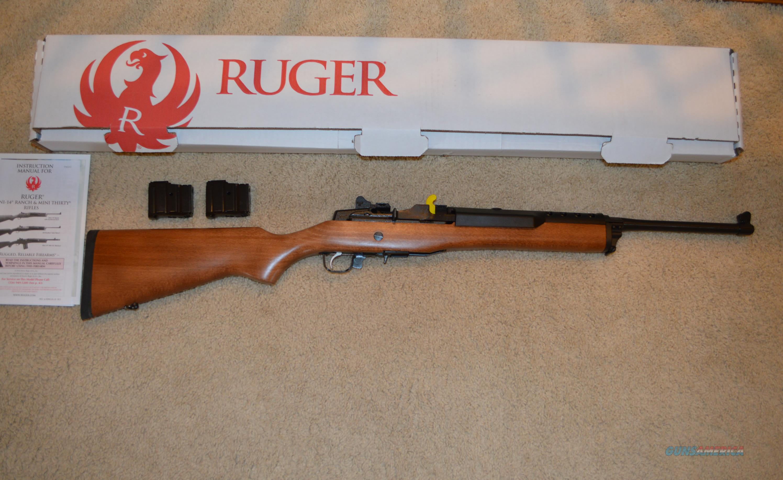 ON SALE! Ruger Mini 14 Ranch  Guns > Rifles > Ruger Rifles > Mini-14 Type