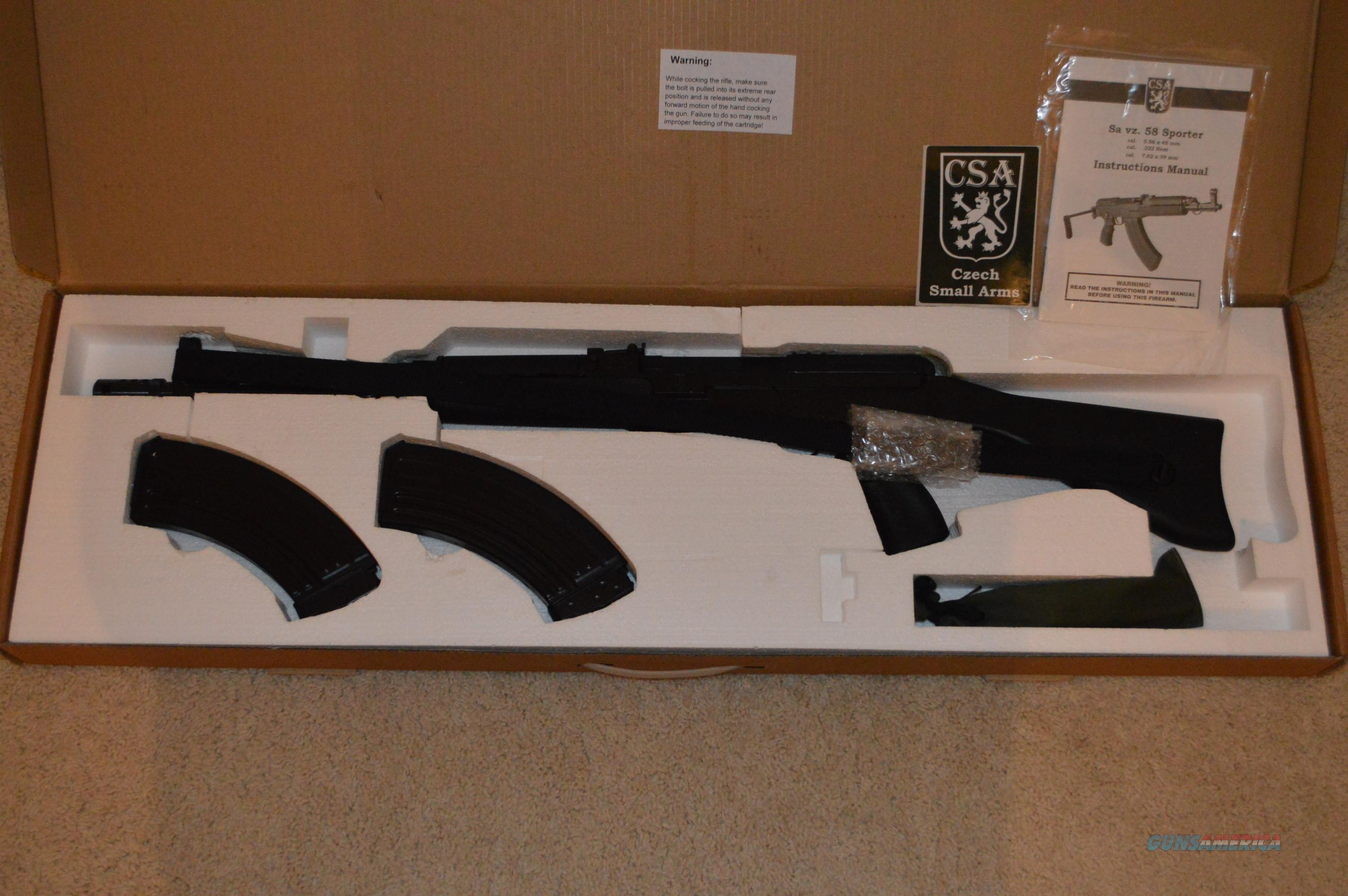 Czechpoint VZ-58 Military VZ58 Milled FREE SHIP!  Guns > Rifles > AK-47 Rifles (and copies) > Full Stock
