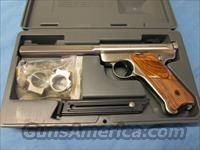 Ruger Mark II Competition Stailess Slab Side   Guns > Pistols > Ruger Semi-Auto Pistols > Mark I & II Family