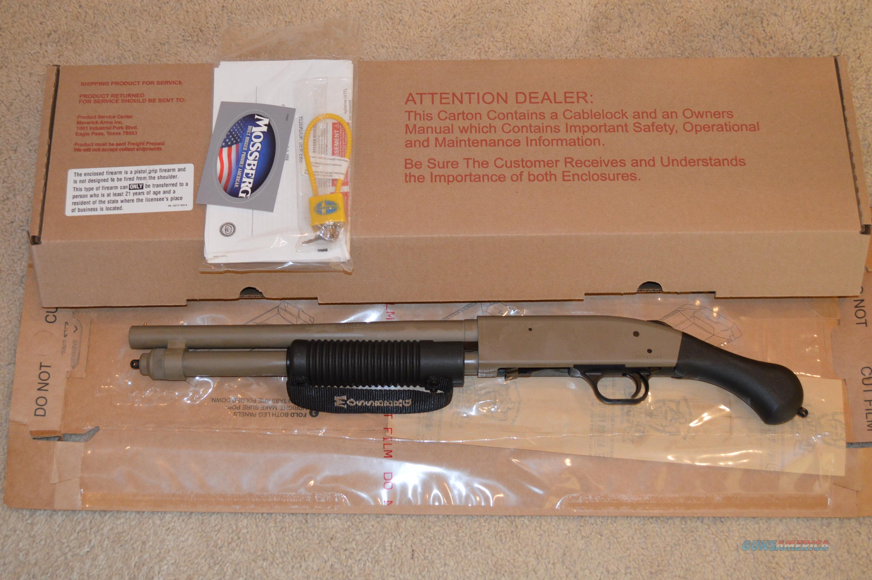 SALE! Mossberg 590 Shockwave FDE  Guns > Shotguns > Mossberg Shotguns > Pump > Tactical