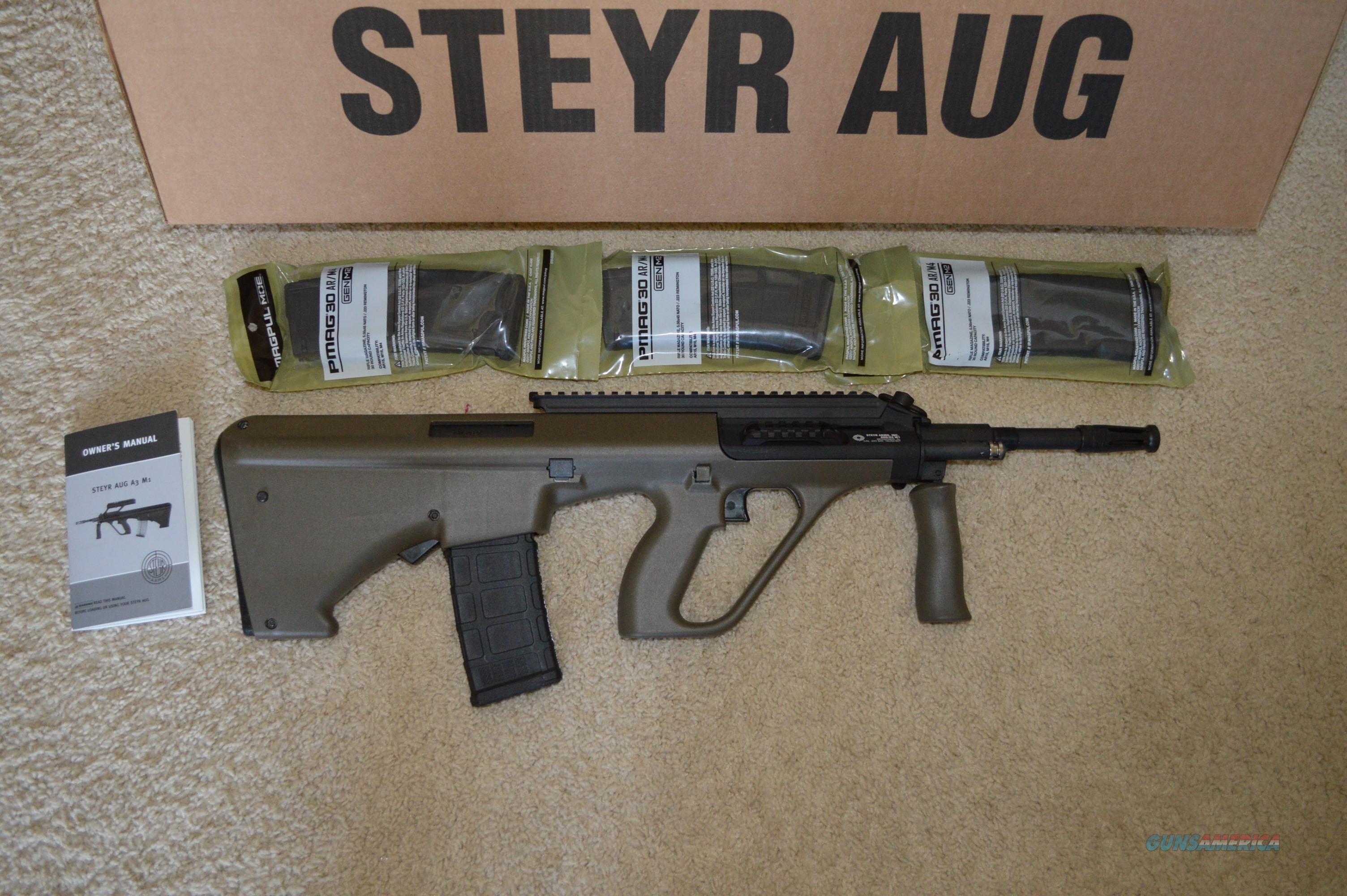 Steyr Aug NATO Green  Guns > Rifles > Steyr Rifles