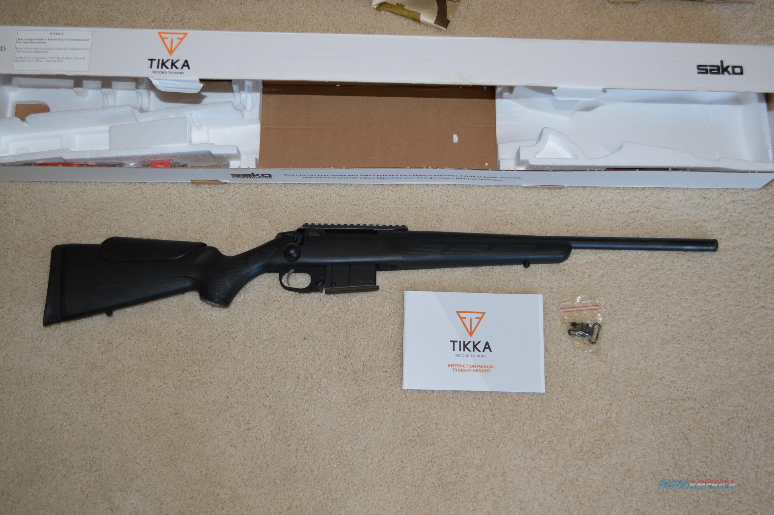 Tikka T3 CTR 260 Rem FREE SHIP NO CC FEE!  Guns > Rifles > Tikka Rifles > T3