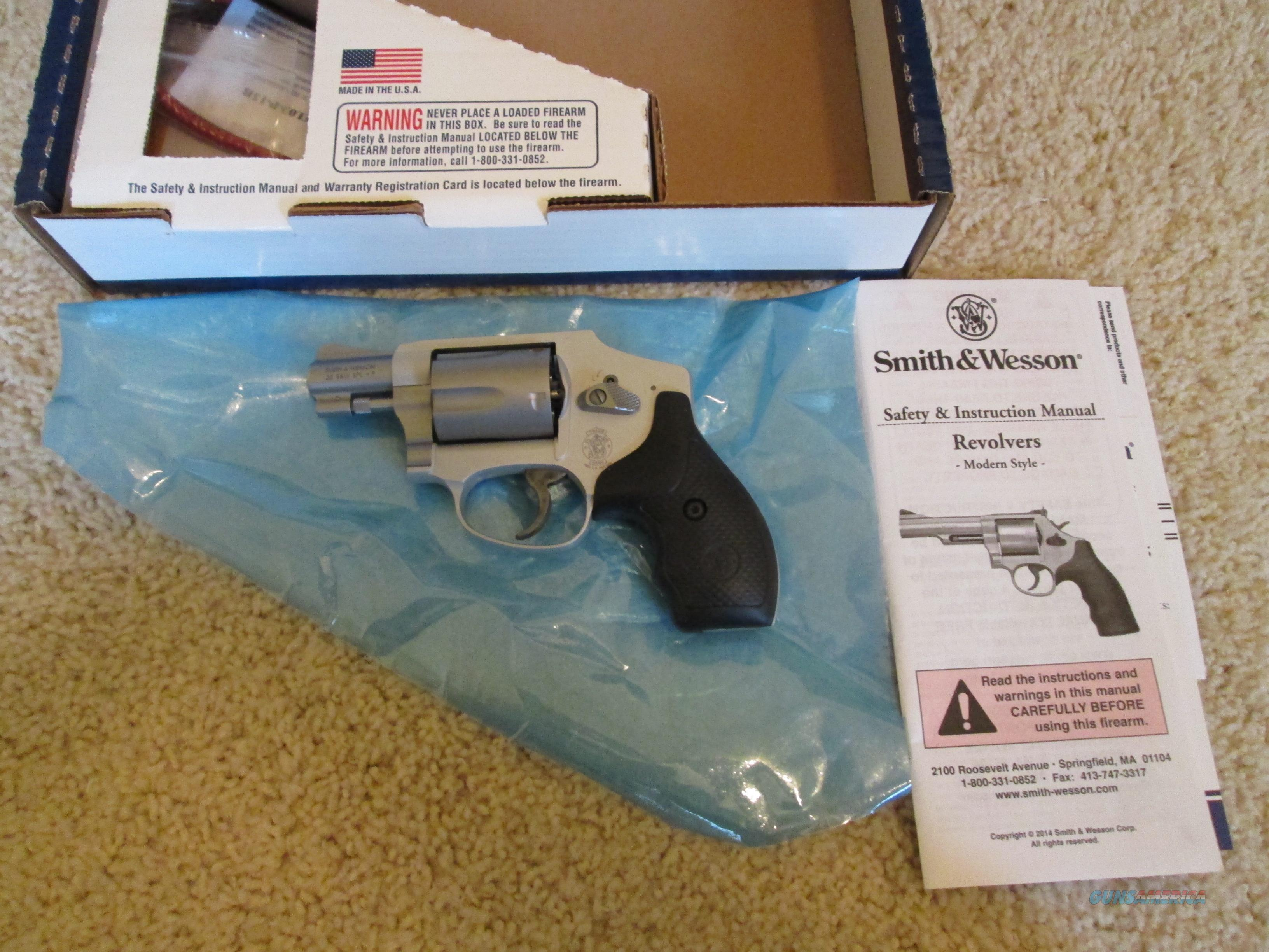 On Sale! Smith & Wesson 642 Airweight 38 SPL +P  Guns > Pistols > Smith & Wesson Revolvers > Pocket Pistols