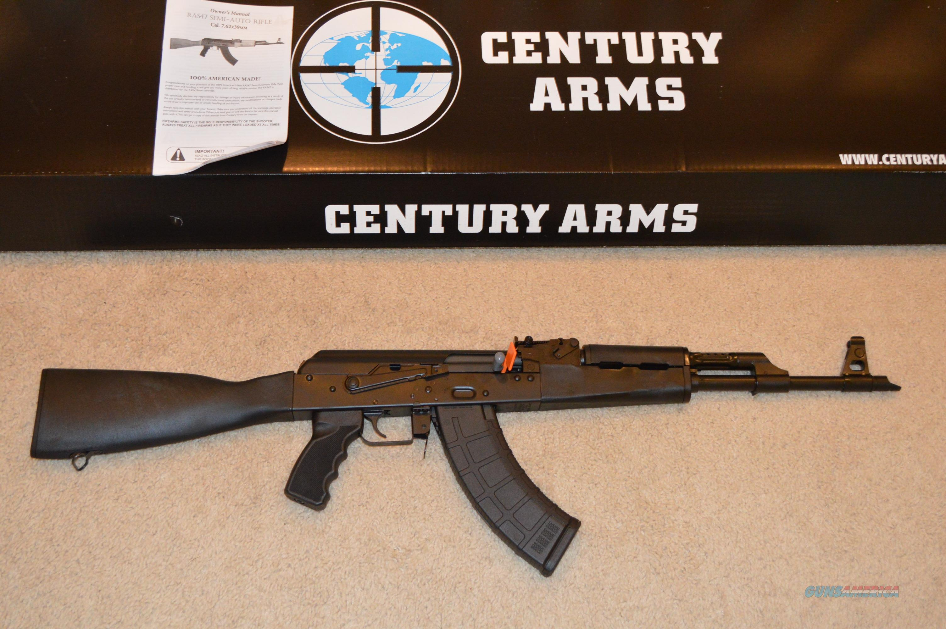 Century RAS-47 Poly AK-47 RAS47   Guns > Rifles > Century International Arms - Rifles > Rifles