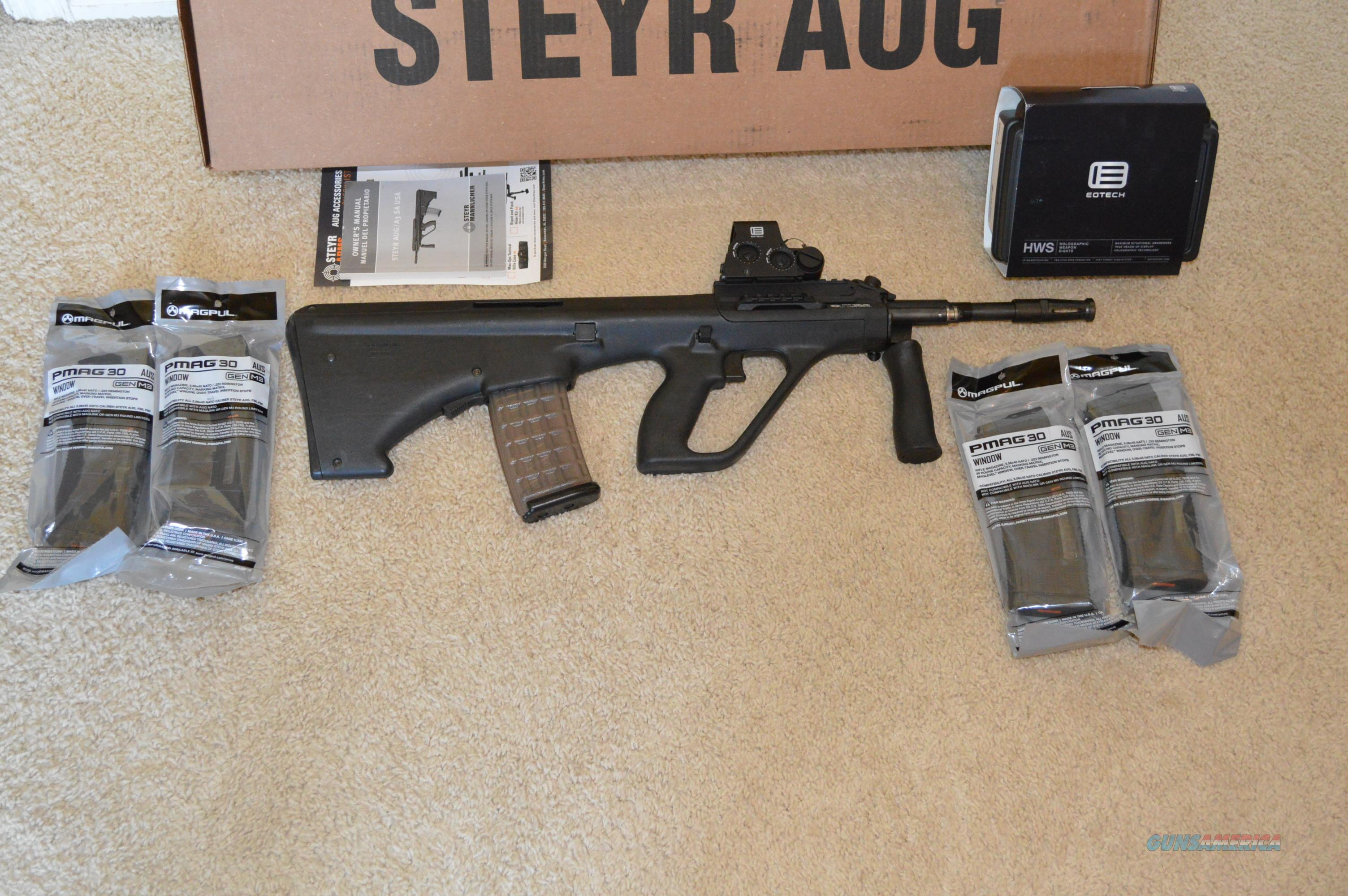 Clearance Sale! Steyr Aug Package EoTech Extra Mags  Guns > Rifles > Steyr Rifles