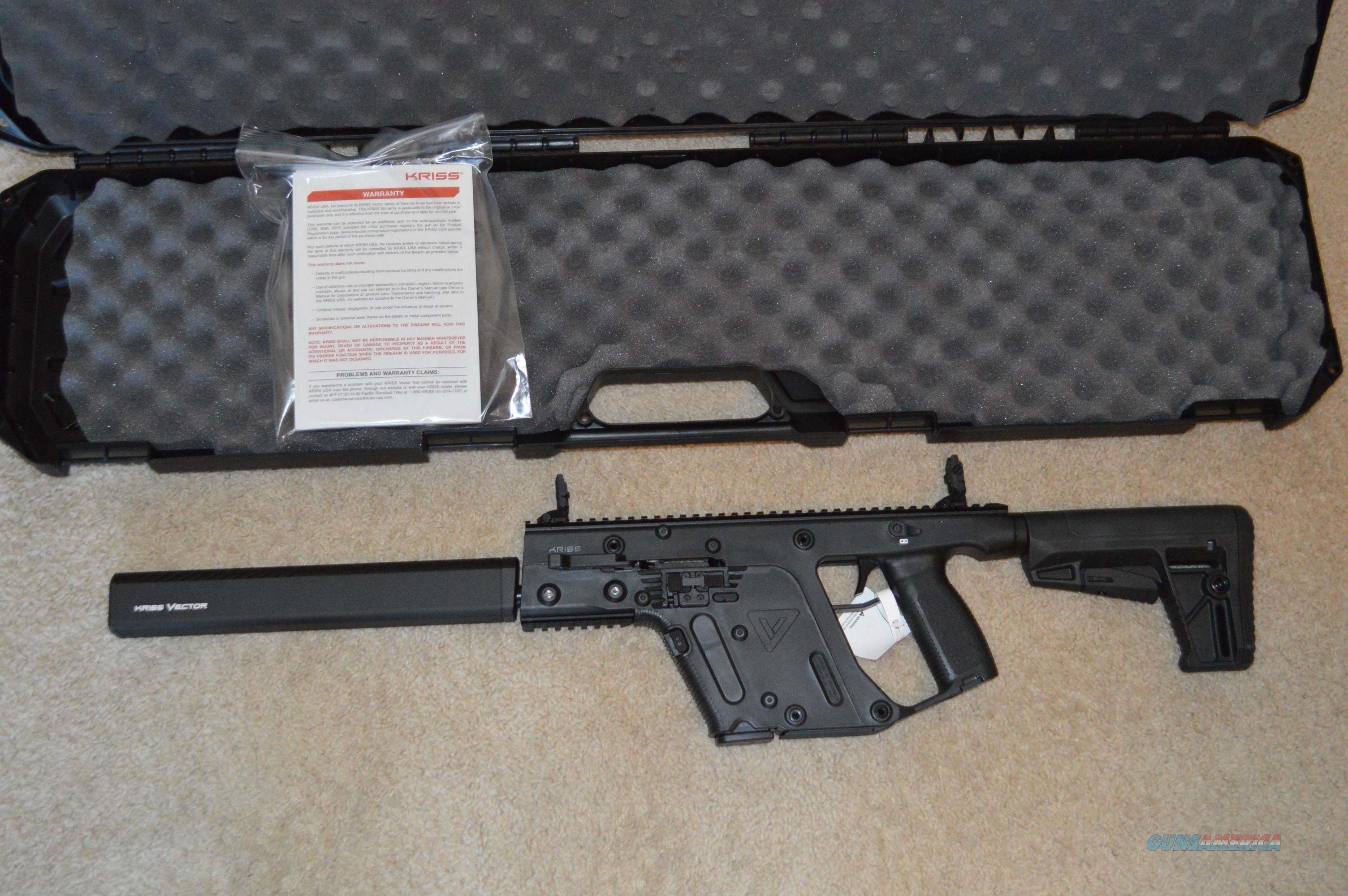 Year End Sale! Kriss CRB Gen2 45acp FREE SHIP NO CC FEE!  Guns > Rifles > Kriss Tactical Rifles