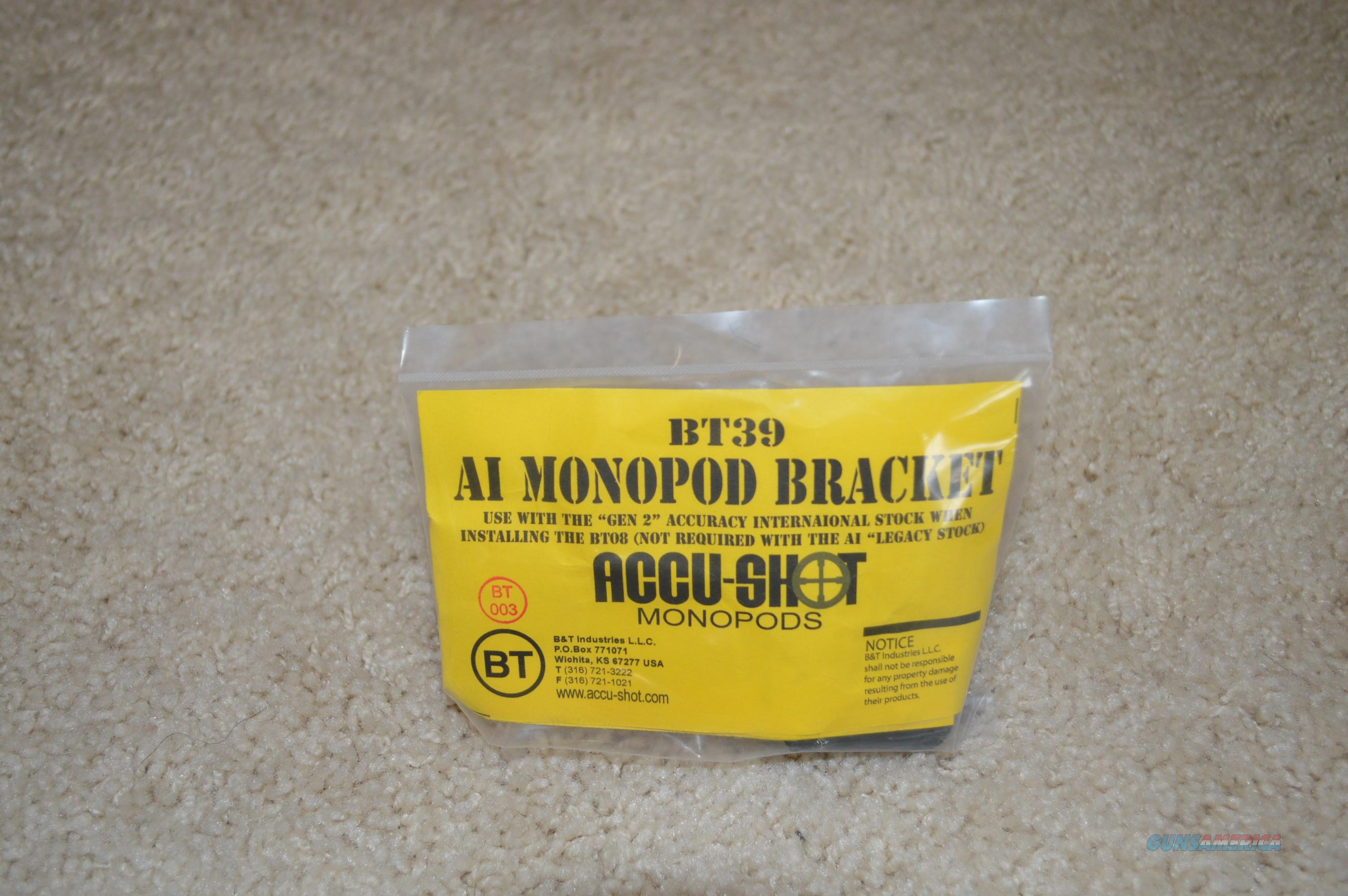 Accu-Shot BT39 Accuracy International Bracket  Non-Guns > Gun Parts > Rifle/Accuracy/Sniper