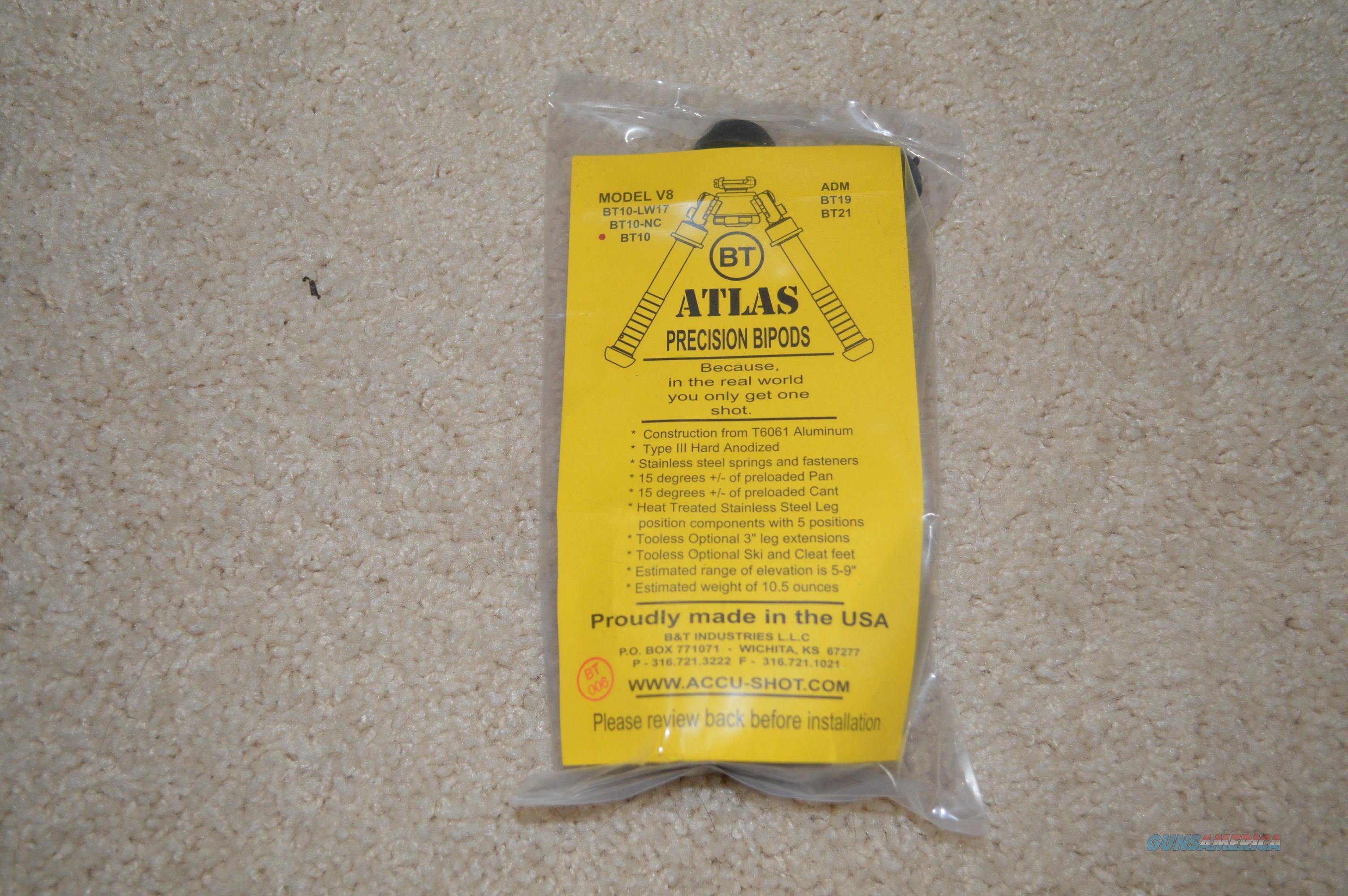 Atlas Bipod BT10  Non-Guns > Gun Parts > Rifle/Accuracy/Sniper