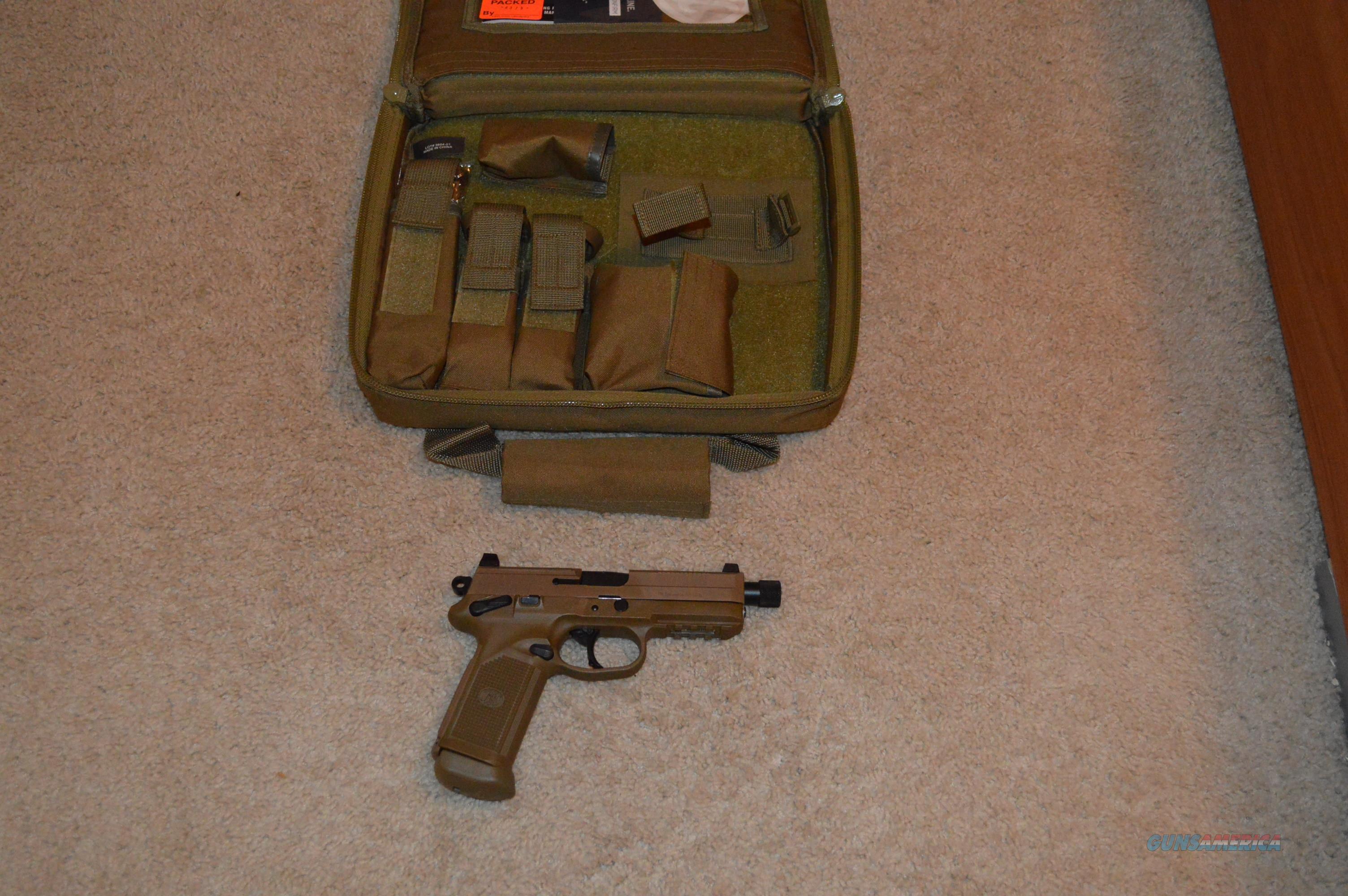 FN FNX-45 Tactical FDE FREE SHIP NO CC FEE!  Guns > Pistols > FNH - Fabrique Nationale (FN) Pistols > FNX