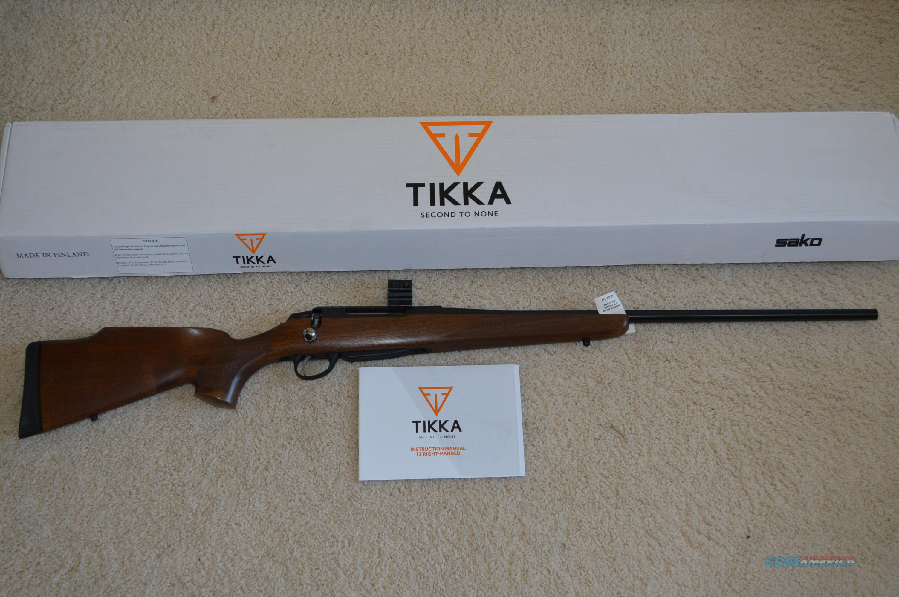 Year End Sale! Tikka T3 Forest 300 Win Mag   Guns > Rifles > Tikka Rifles > T3
