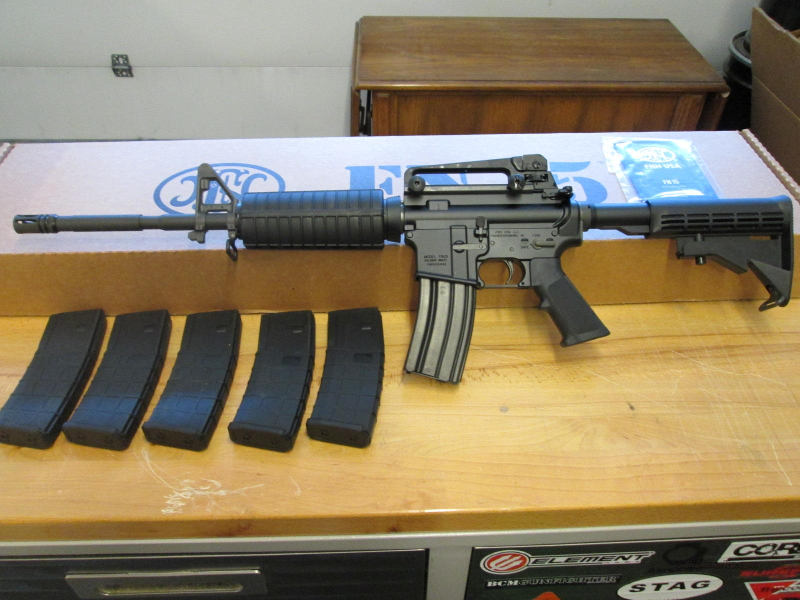 FN Herstal AR-15 + Extras + $125 REBATE   Guns > Rifles > FNH - Fabrique Nationale (FN) Rifles > Semi-auto > Other