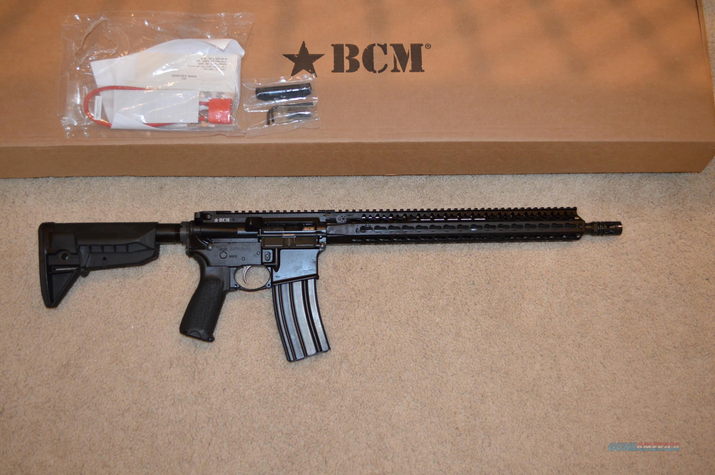 BCM Recce 16 KMR-A   Guns > Rifles > AR-15 Rifles - Small Manufacturers > Complete Rifle
