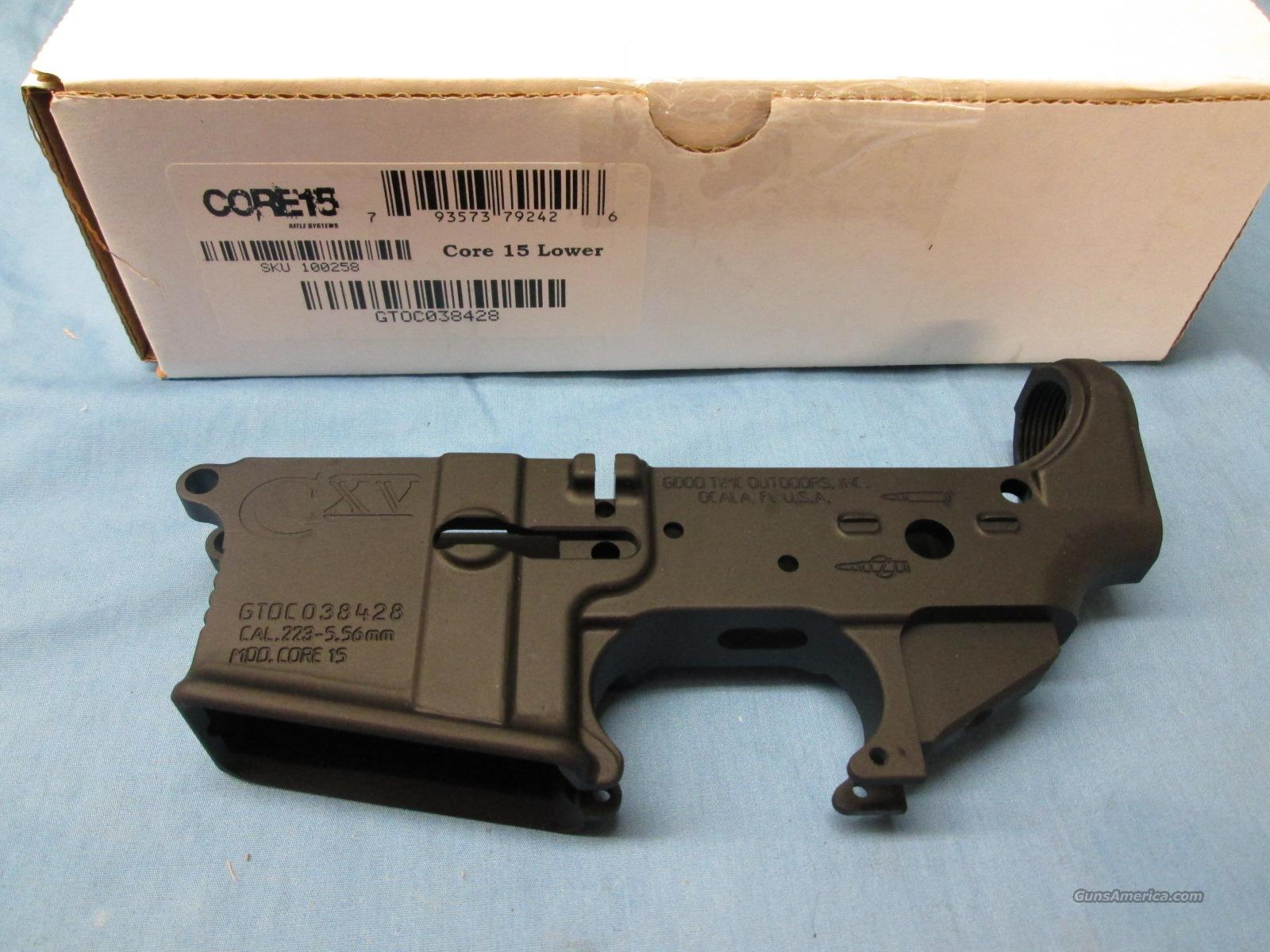 Core15 Stripped Lower Receiver AR-15   Guns > Rifles > AR-15 Rifles - Small Manufacturers > Lower Only