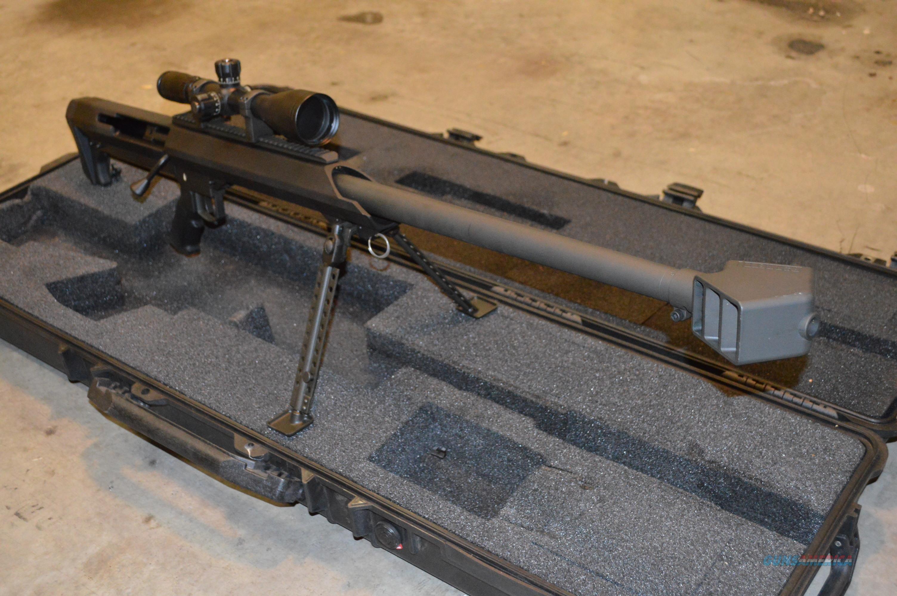Barrett M99 416 + Extras  Guns > Rifles > Barrett Rifles