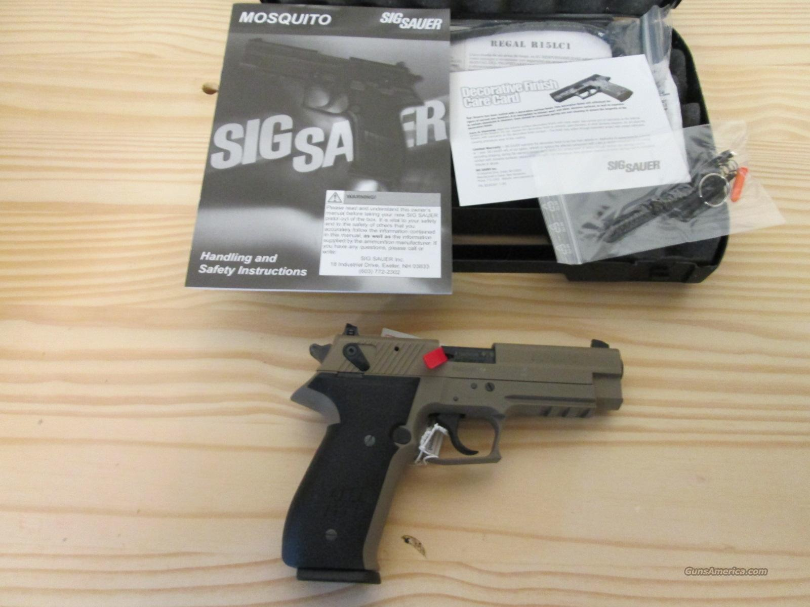 Sale! Sig Mosquito FDE  Guns > Pistols > Sig - Sauer/Sigarms Pistols > Mosquito