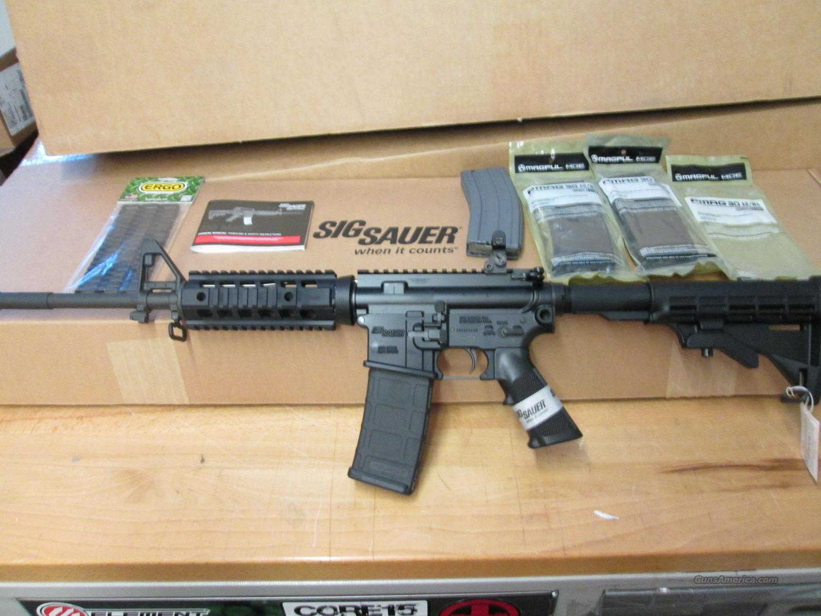 Clearance Sale Sig M400 SWAT + Extras  Guns > Rifles > Sig - Sauer/Sigarms Rifles