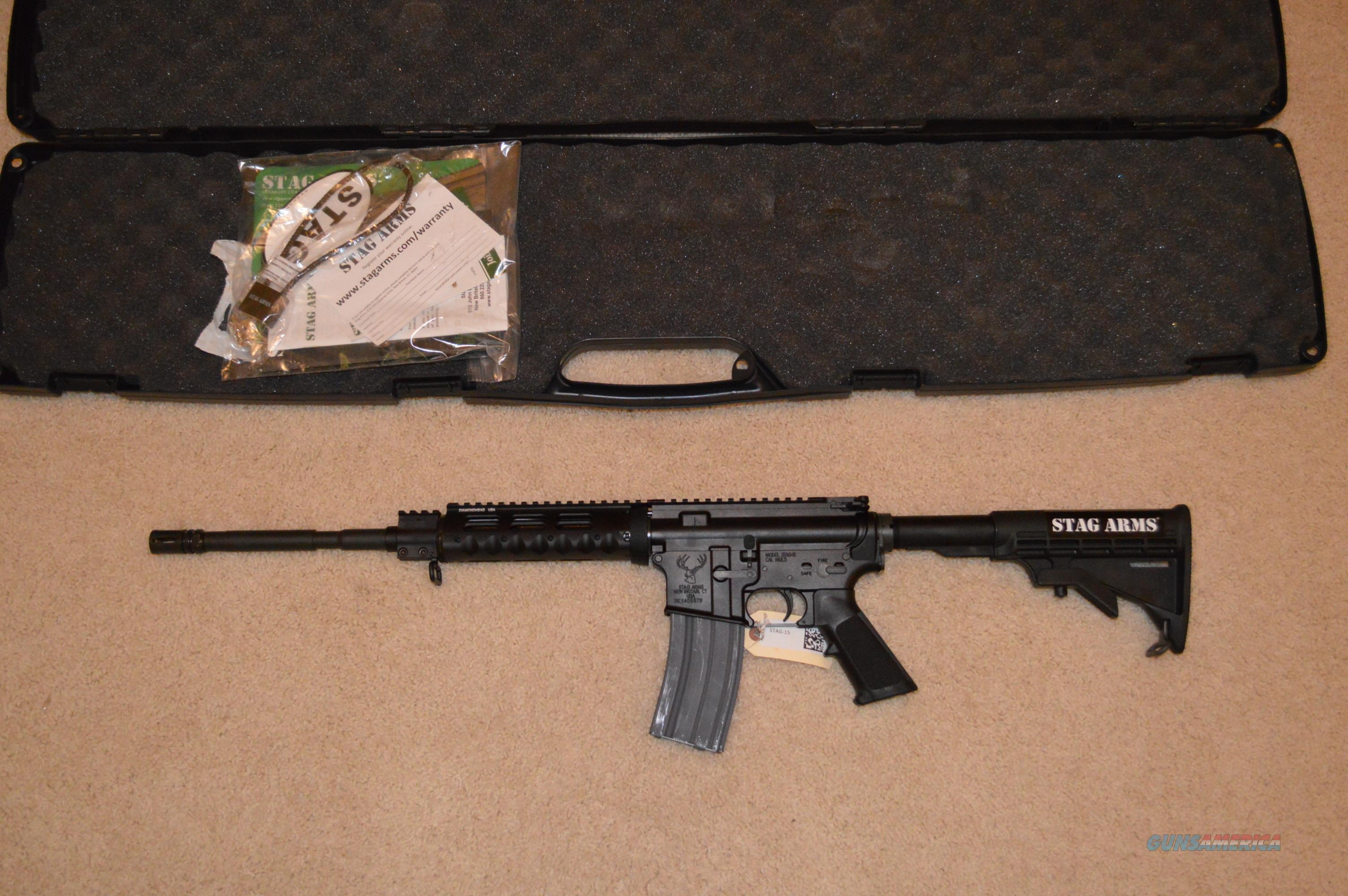 Black Friday Sale! Stag Arms Model 3 AR-15 SA3 + Extras!  Guns > Rifles > Stag Arms > Complete Rifles