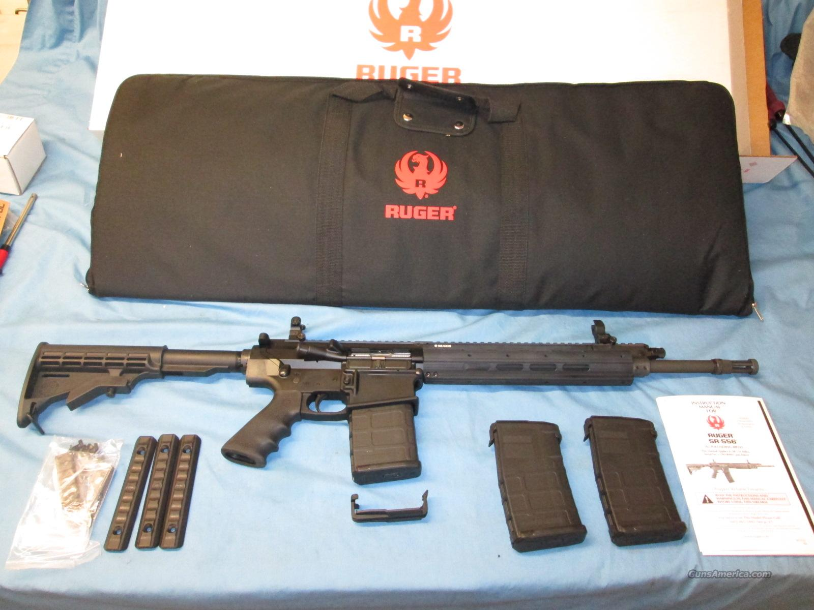 RUGER SR-762 RIFLE 308 SR762  Guns > Rifles > Ruger Rifles > SR-556