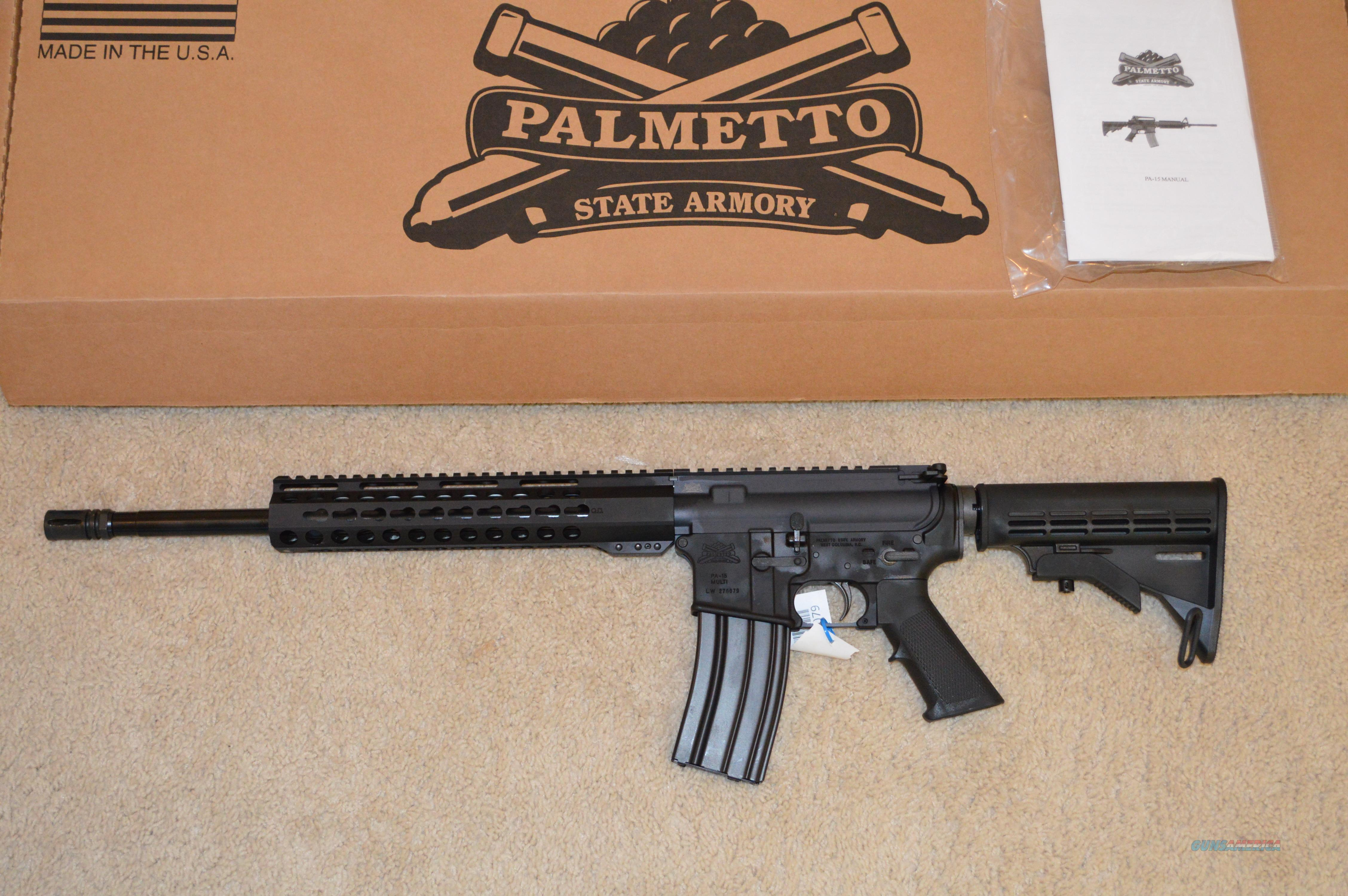 Black Friday Sale! Palmetto State Armory Classic Freedom Keymod FREE SHIP NO CC FEE!  Guns > Rifles > AR-15 Rifles - Small Manufacturers > Complete Rifle