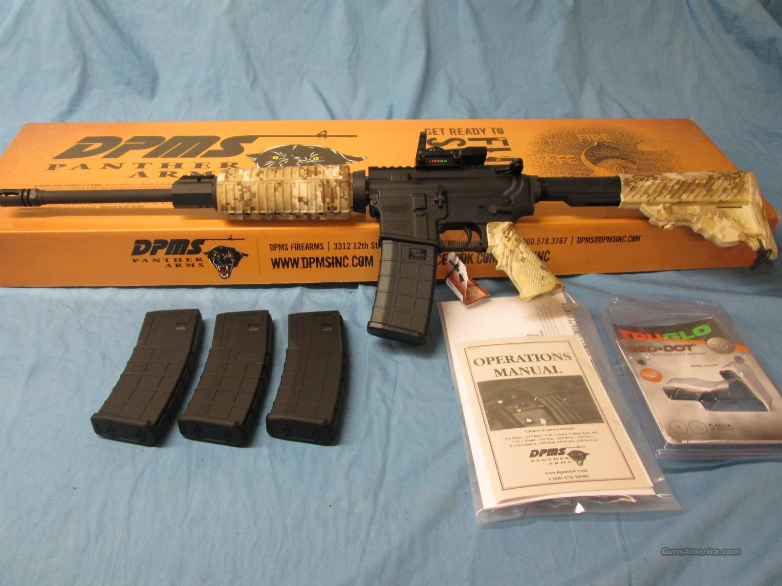 CLEARANCE SALE! DPMS AR-15 DESERT DIGITAL  Guns > Rifles > DPMS - Panther Arms > Complete Rifle