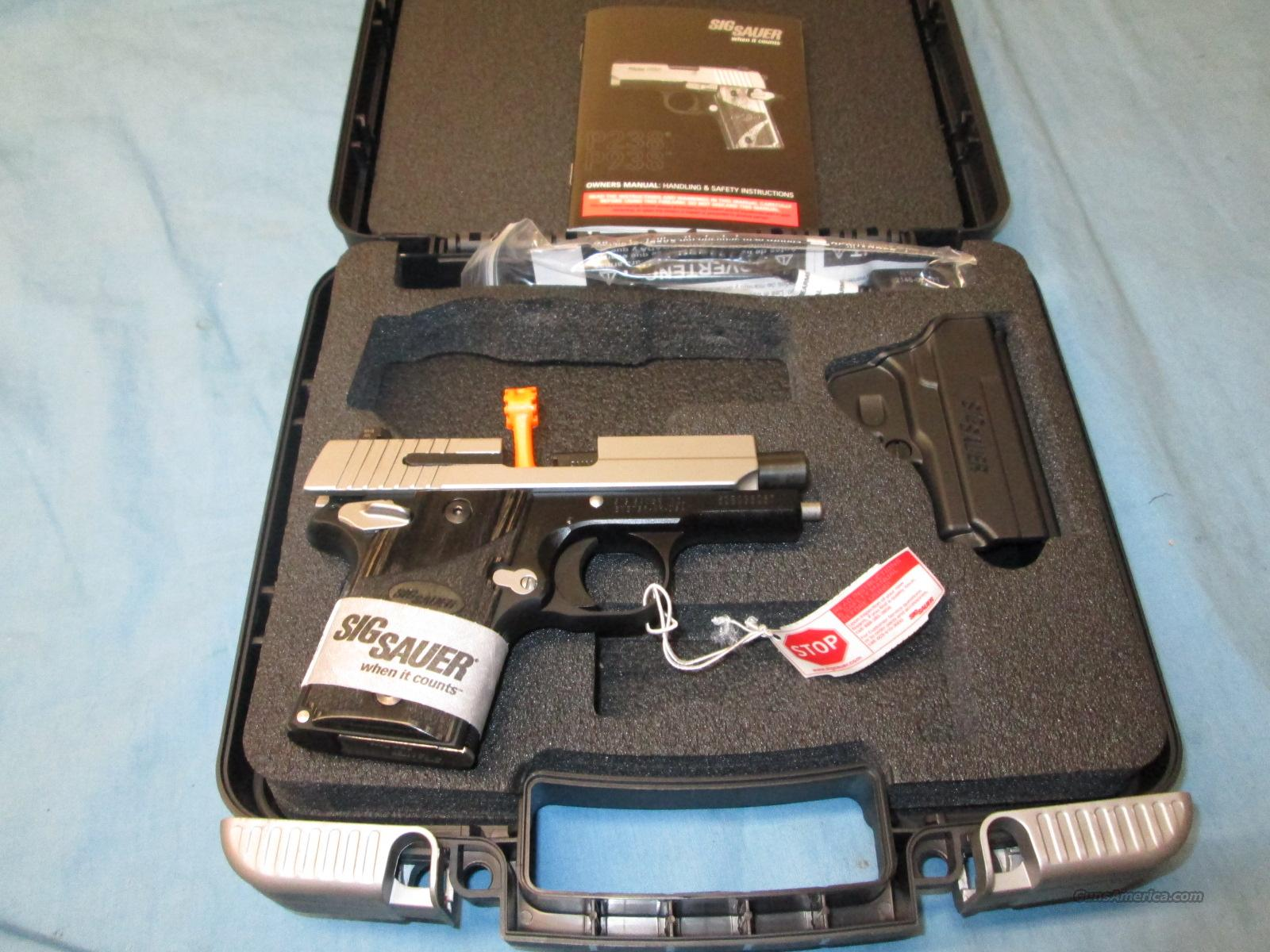 Sale! Sig P-938 2 Tone  Guns > Pistols > Sig - Sauer/Sigarms Pistols > Other