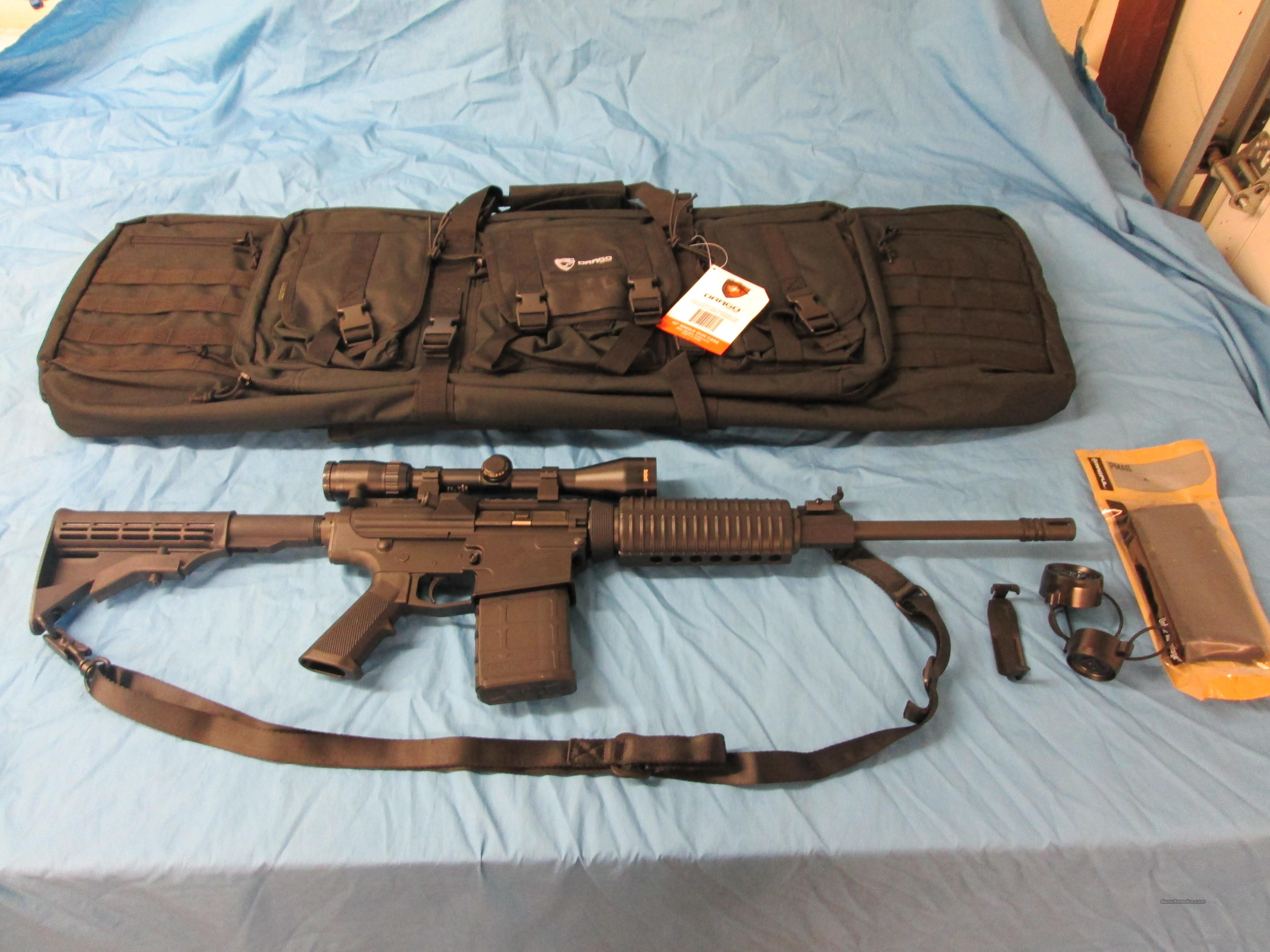 DPMS/CMMG 308 with Optics and Extras !  Guns > Rifles > DPMS - Panther Arms > Complete Rifle