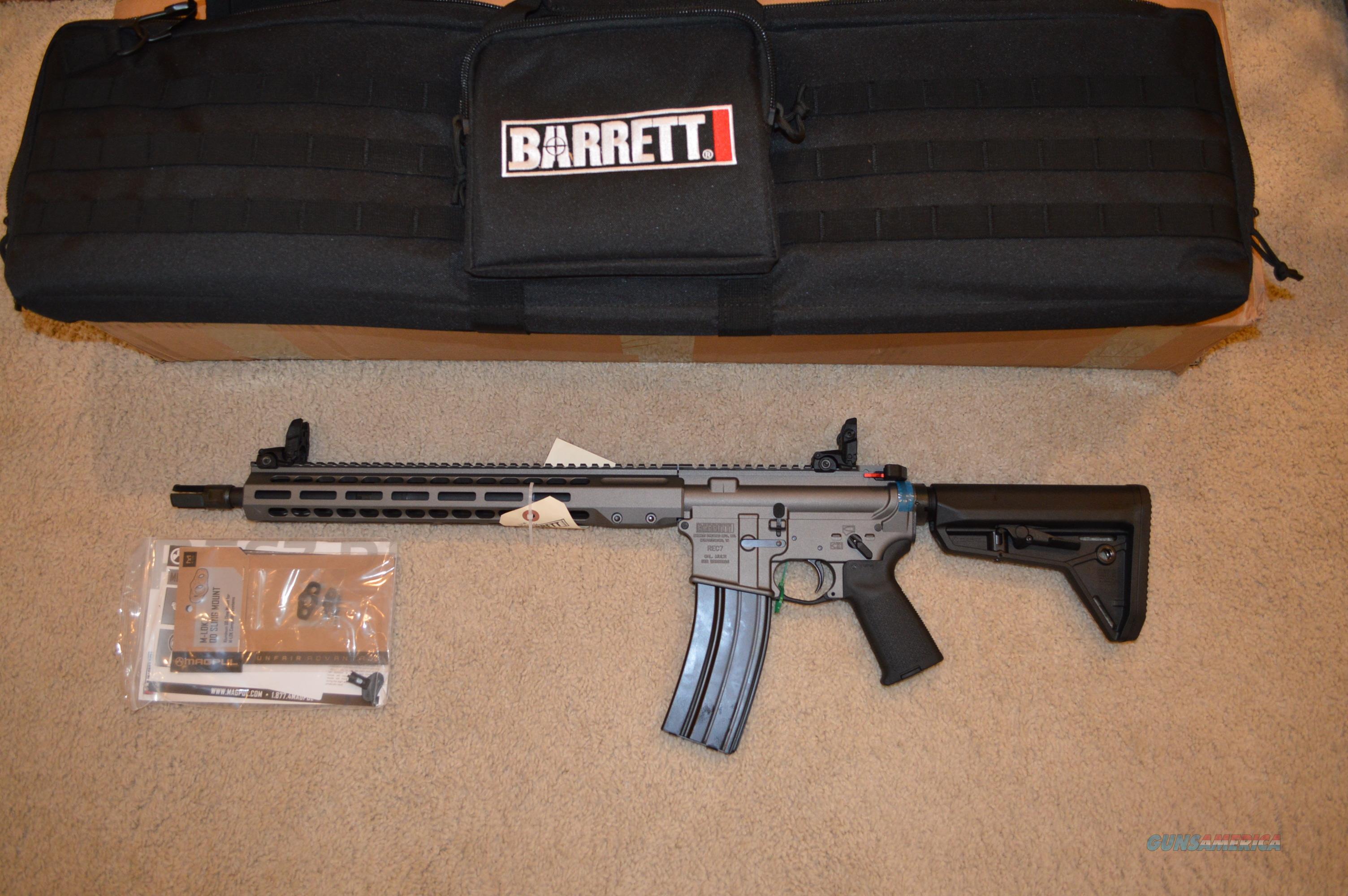 Barrett Rec7 DI 6.8 SPC  Guns > Rifles > Barrett Rifles