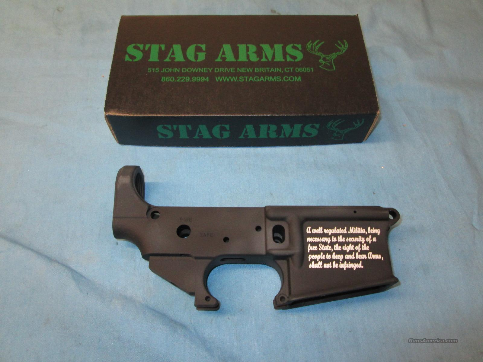 Memorial Day Sale! Stag Arms 2nd Amendment Stripped Lower  Guns > Rifles > Stag Arms > Lower Only
