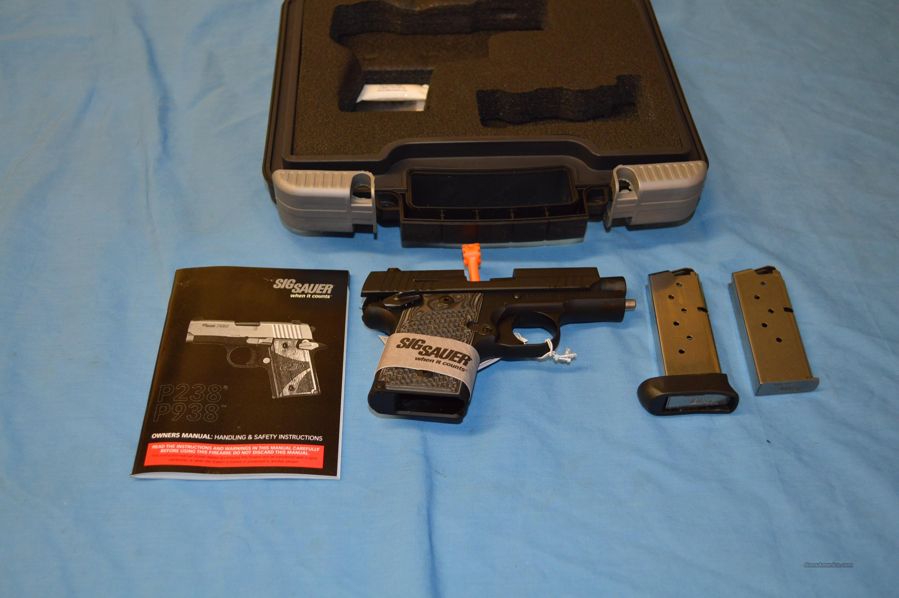 Sig P938 Extreme  9mm Subcompact Night Sites  Guns > Pistols > Sig - Sauer/Sigarms Pistols > Other
