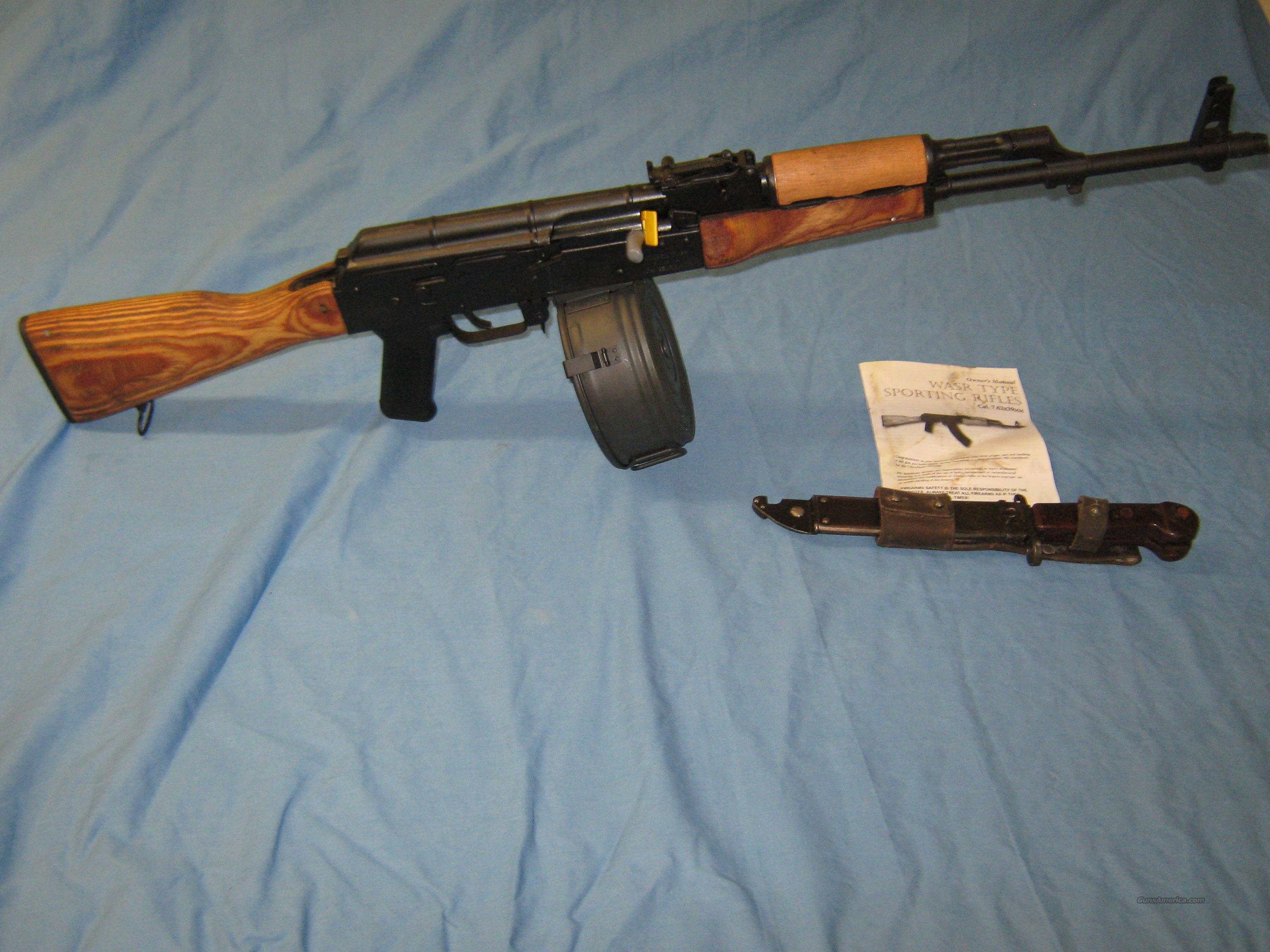 AK-47 WASR + Extras  Guns > Rifles > AK-47 Rifles (and copies) > Folding Stock