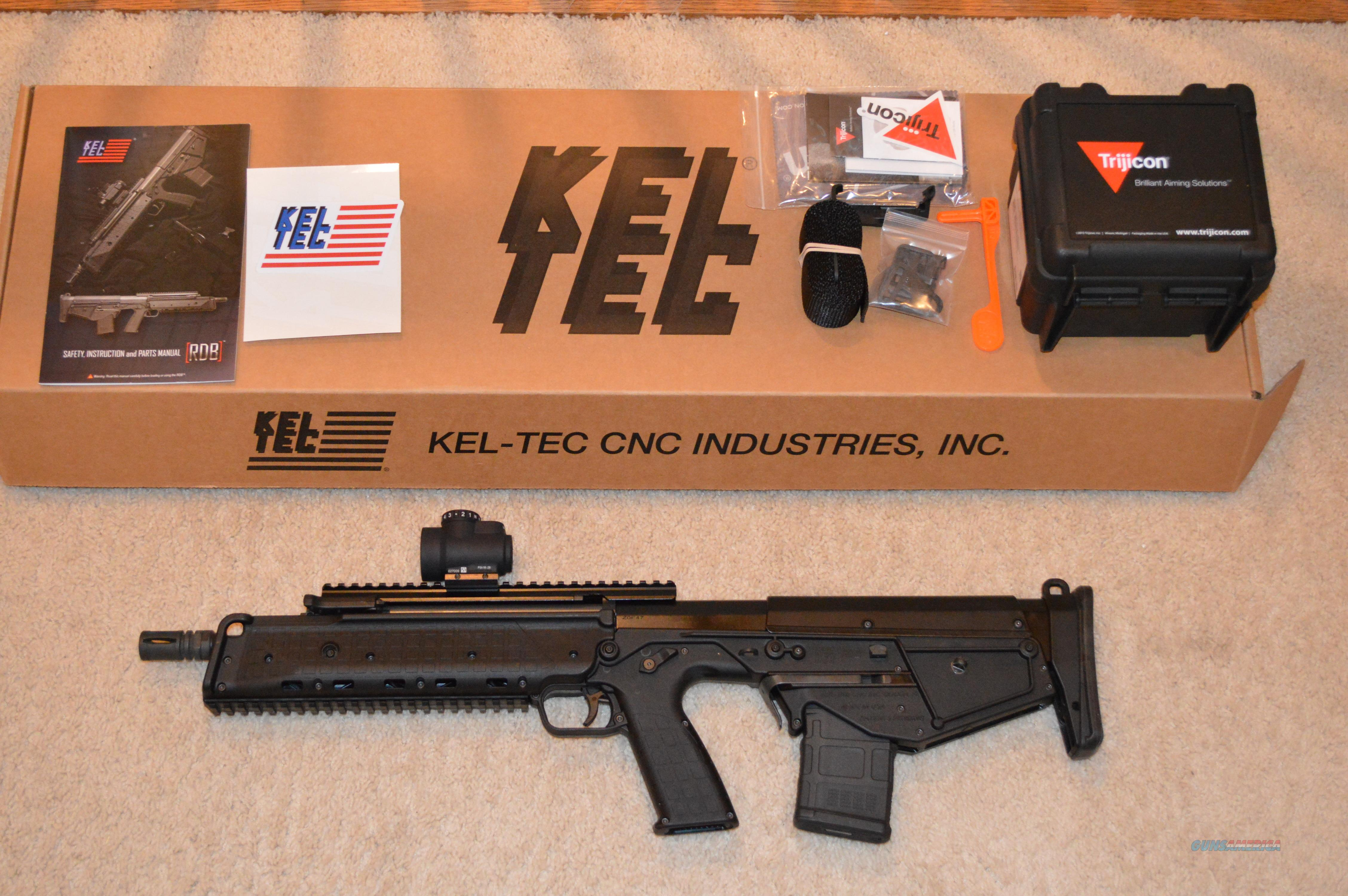 Black Friday Sale! Keltec RDB + Trijicon MRO Kel Tec RDB-17  Guns > Rifles > Kel-Tec Rifles
