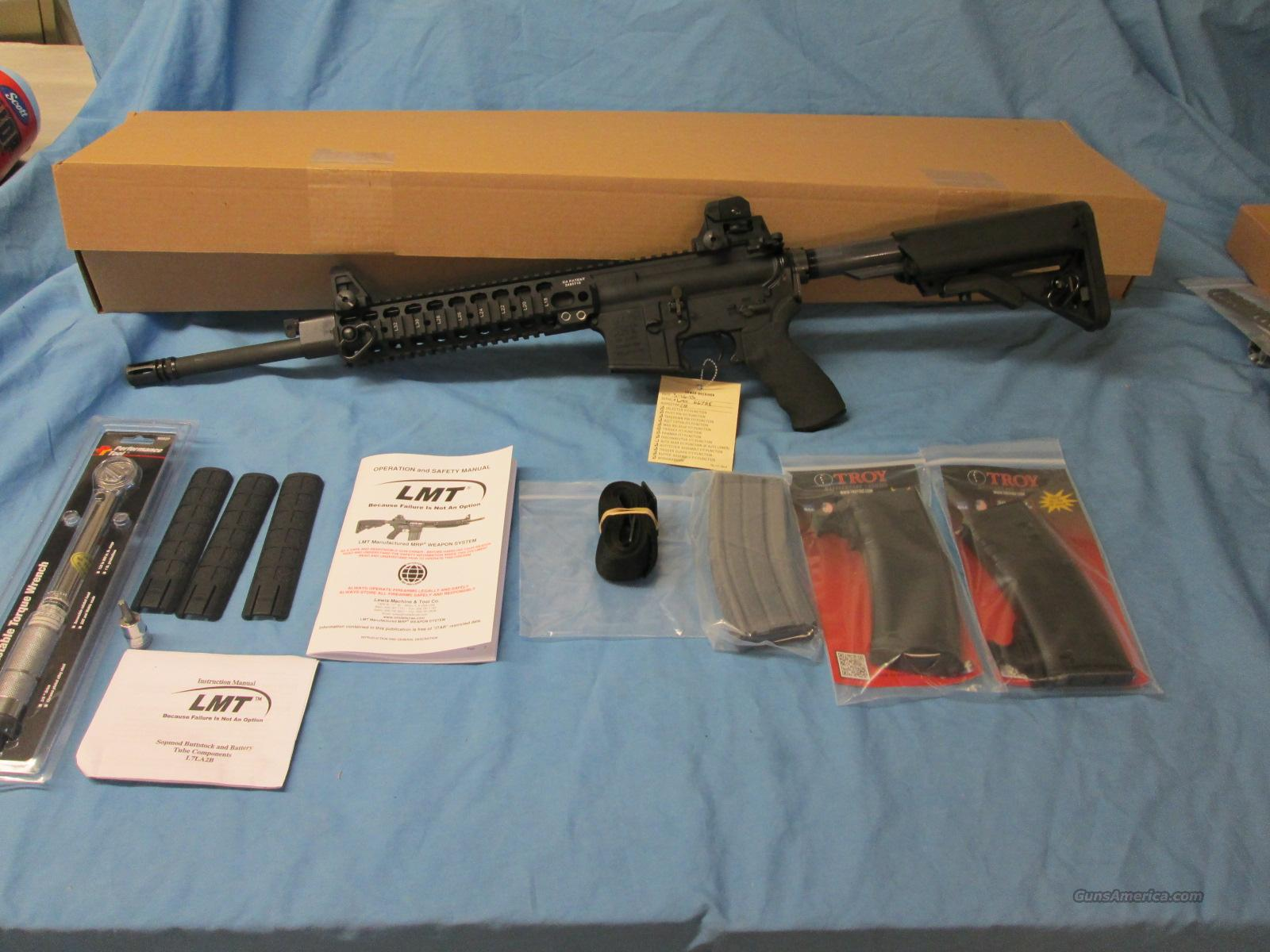 LMT CQB PS 16 AR-15 Lewis Machine and Tool  Guns > Rifles > AR-15 Rifles - Small Manufacturers > Complete Rifle