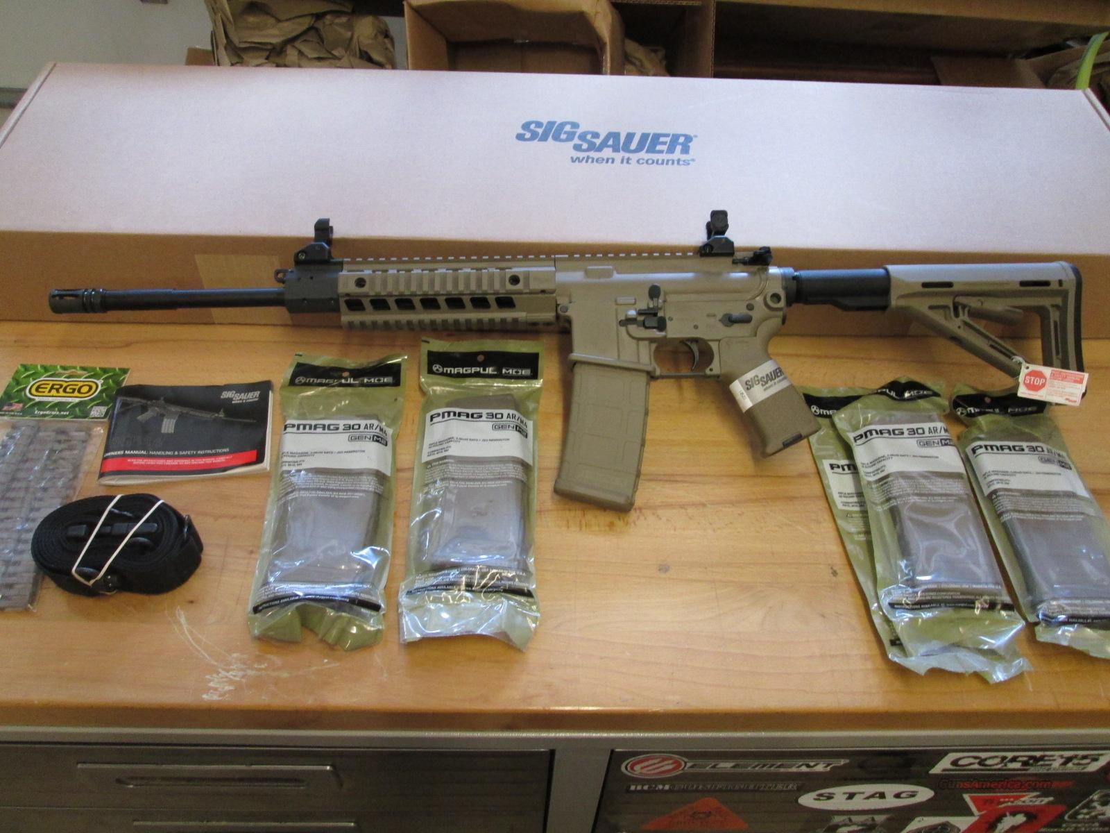CLEARANCE SALE! SIG 516 FDE Patrol Rifle Gen 2 Sig R516 + Extras  Guns > Rifles > Sig - Sauer/Sigarms Rifles
