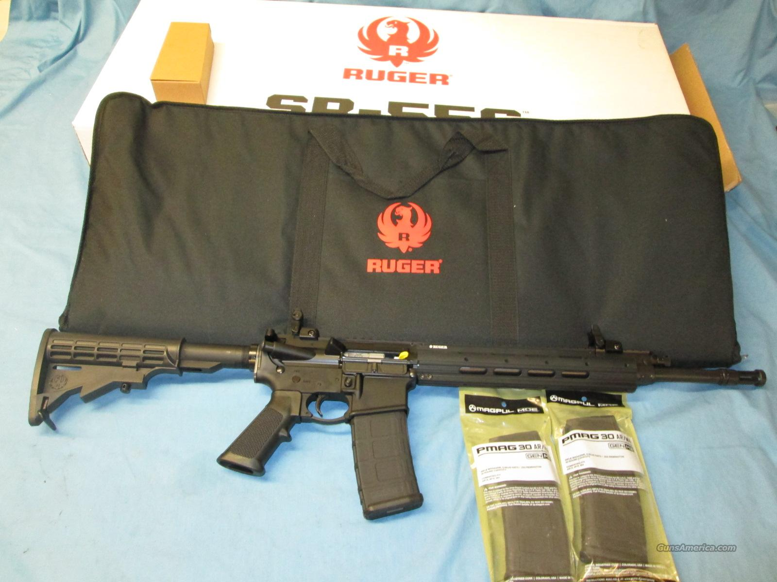 Clearance Sale! RUGER SR-556E + Extras  Guns > Rifles > Ruger Rifles > SR-556