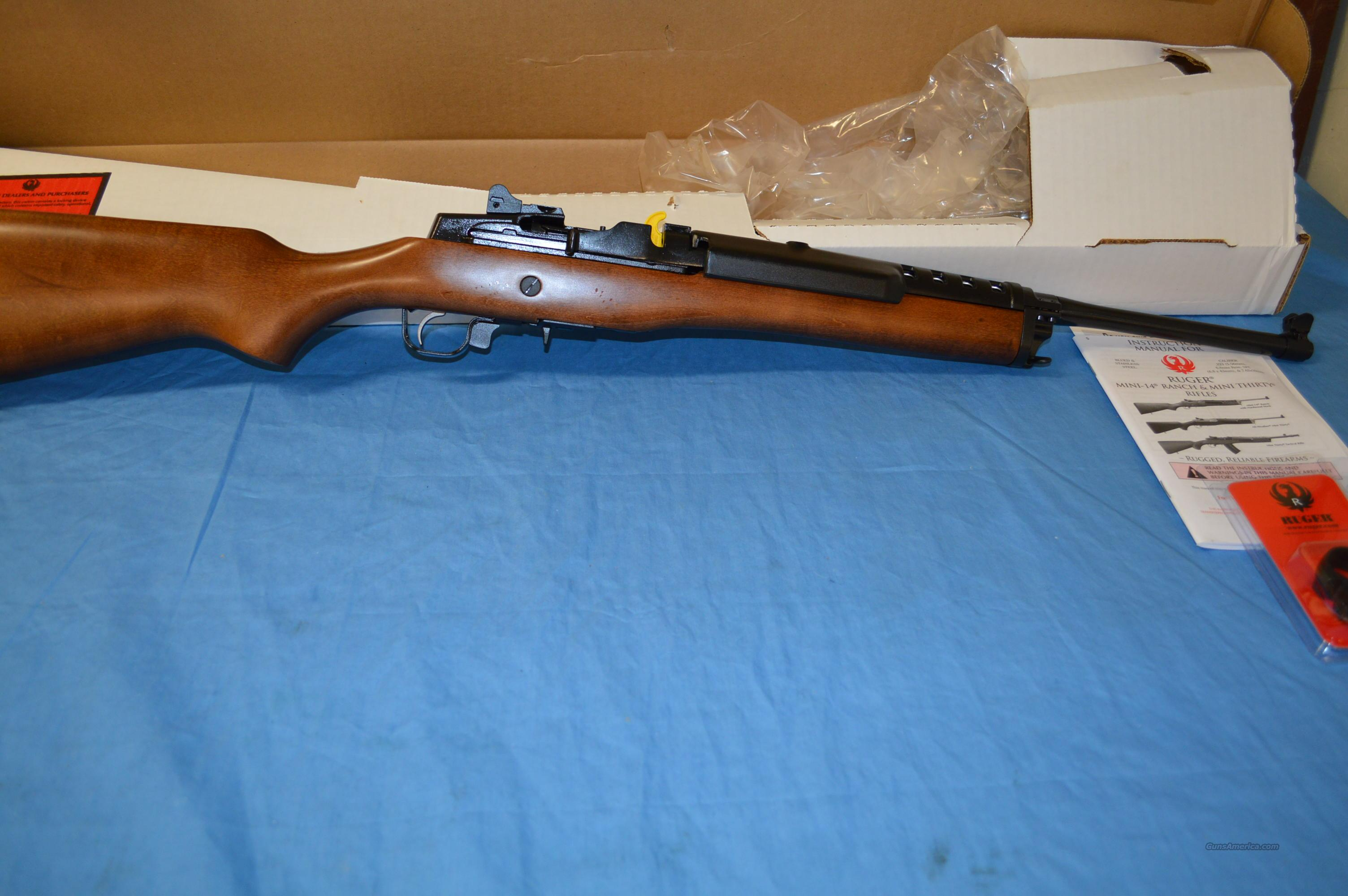 RUGER MINI 14 RANCH  Guns > Rifles > Ruger Rifles > Mini-14 Type