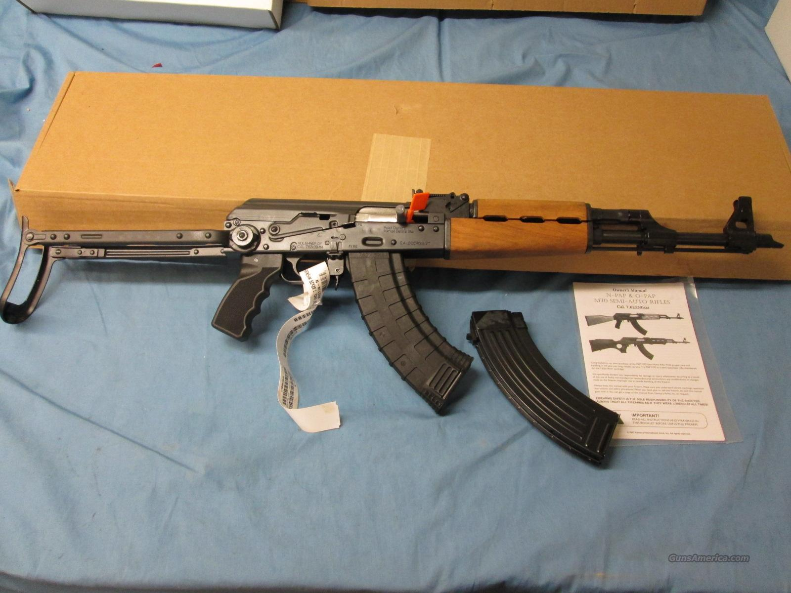 SALE! Zastava N-Pap DF AK-47 Underfolder  Guns > Rifles > AK-47 Rifles (and copies) > Folding Stock