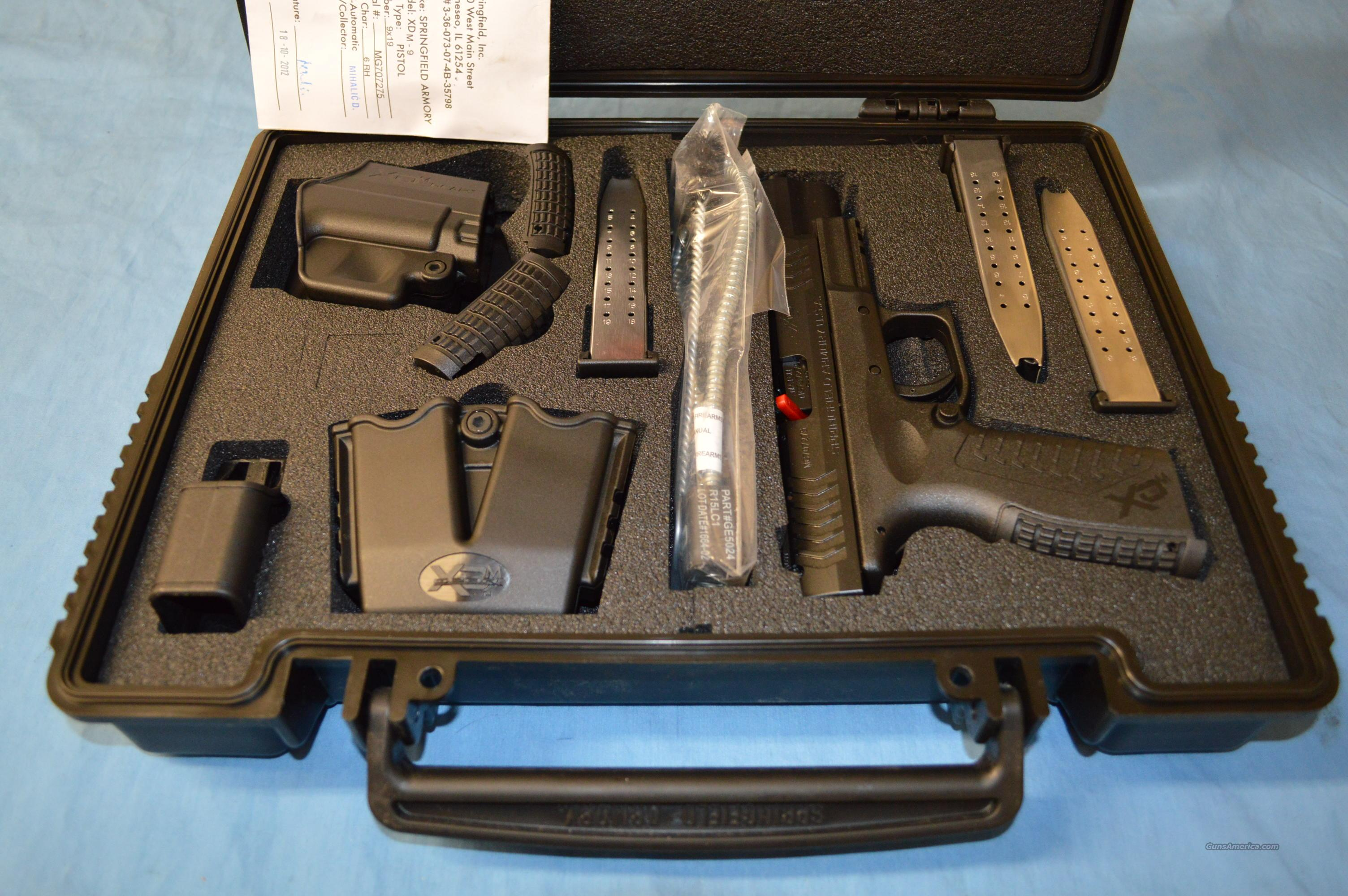 Springfield Armory XDm 9mm 5.25 Competition HI CAP!  Guns > Pistols > Springfield Armory Pistols > XD-M
